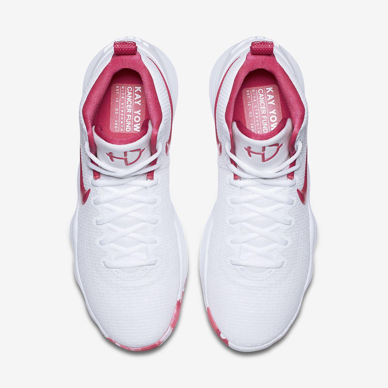 pink white womens nike hyperdunk 2017 shoes