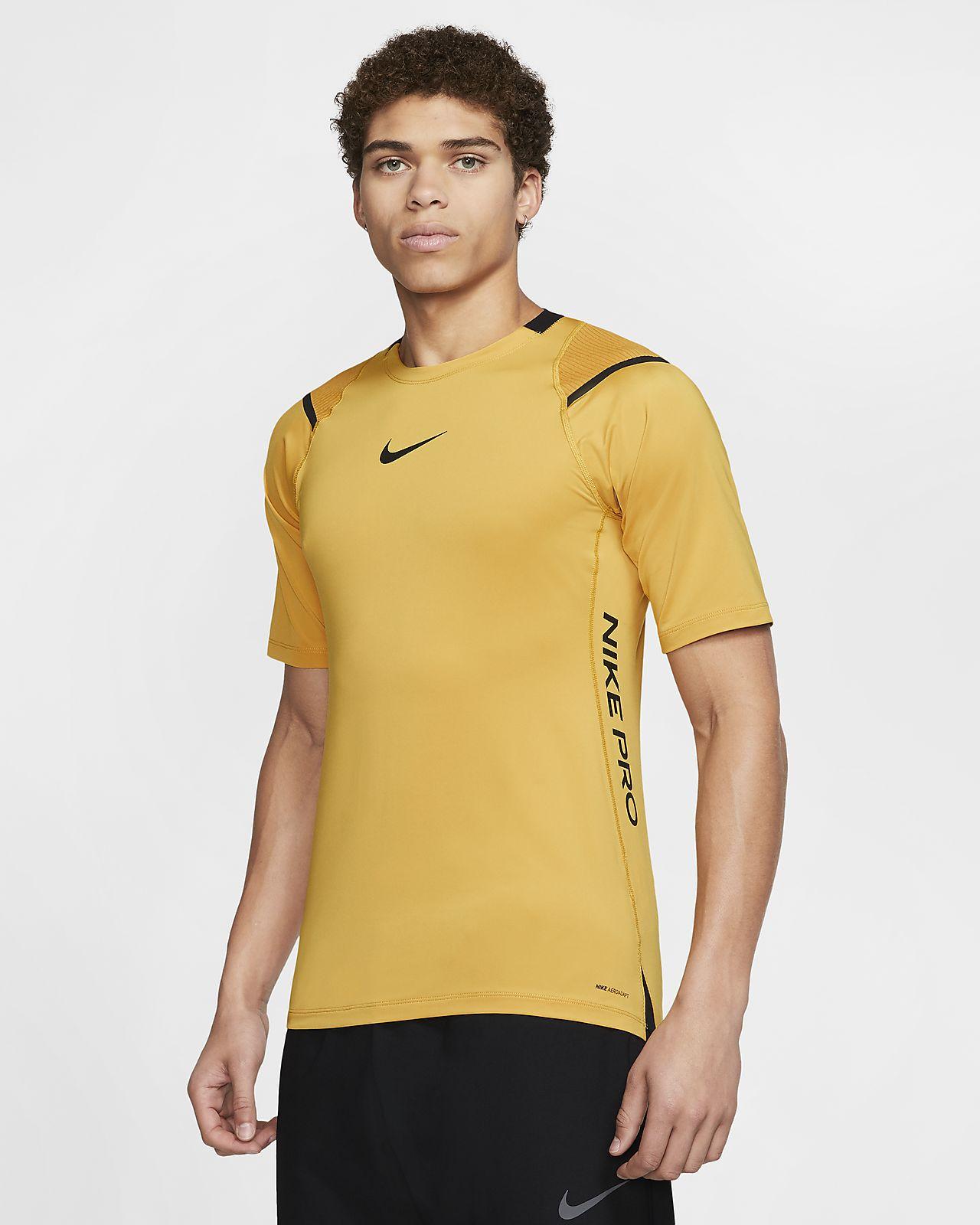 Kortærmet Nike Pro AeroAdapt-overdel til mænd