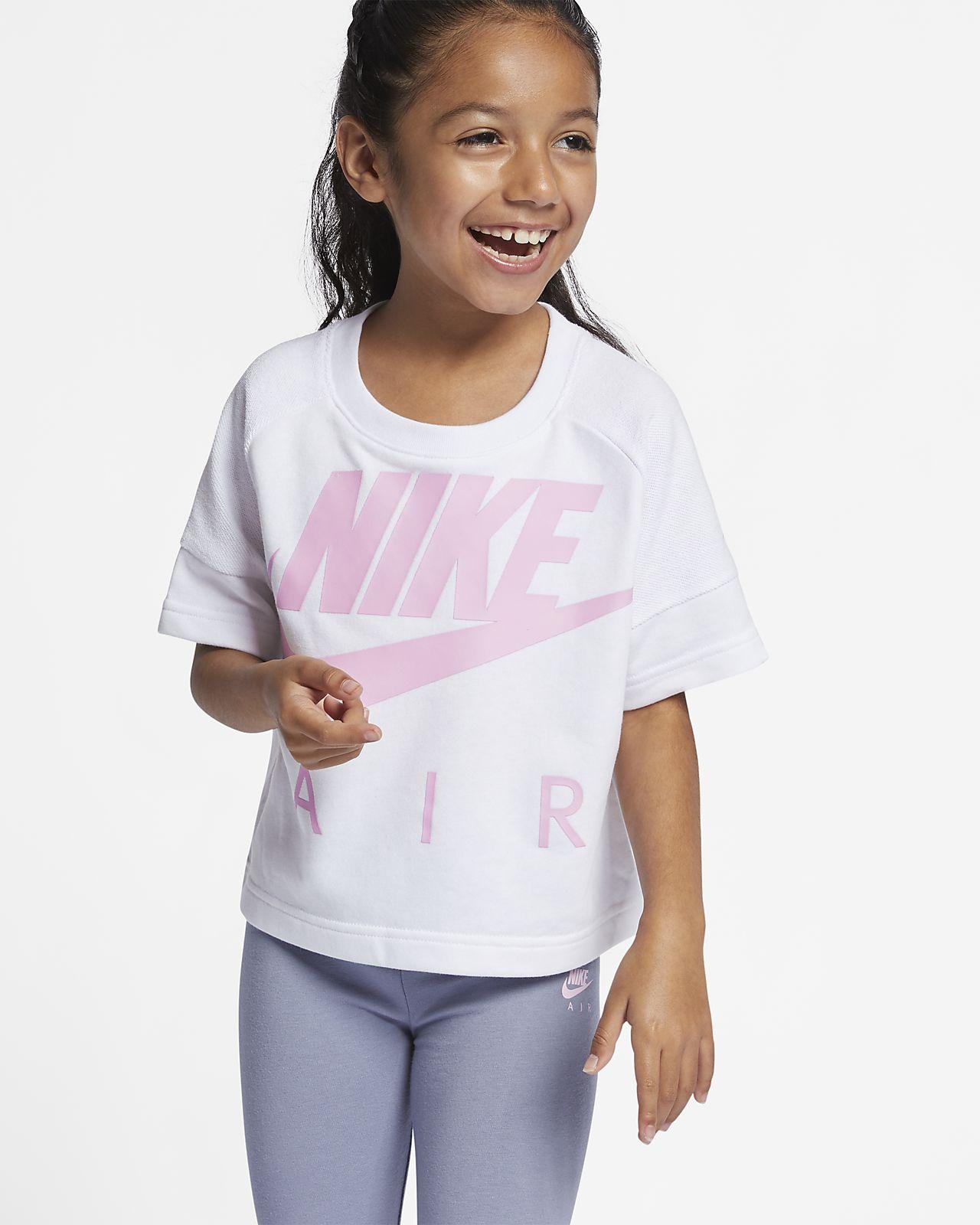 Nike Sportswear Kurz-Rundhalsshirt für jüngere Kinder