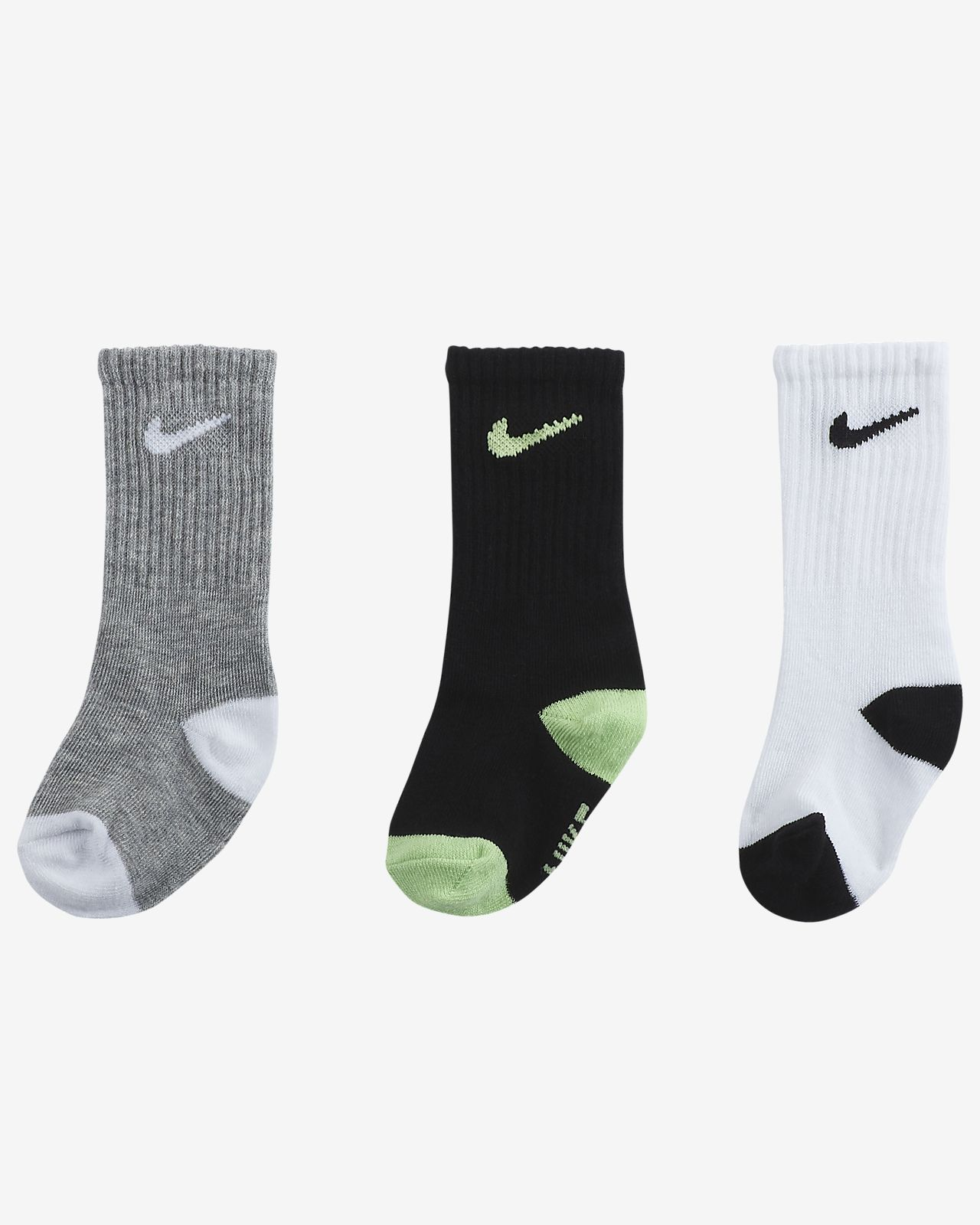 bd1b5d3e0 Nike Toddler Crew Socks (3-Pack). Nike.com