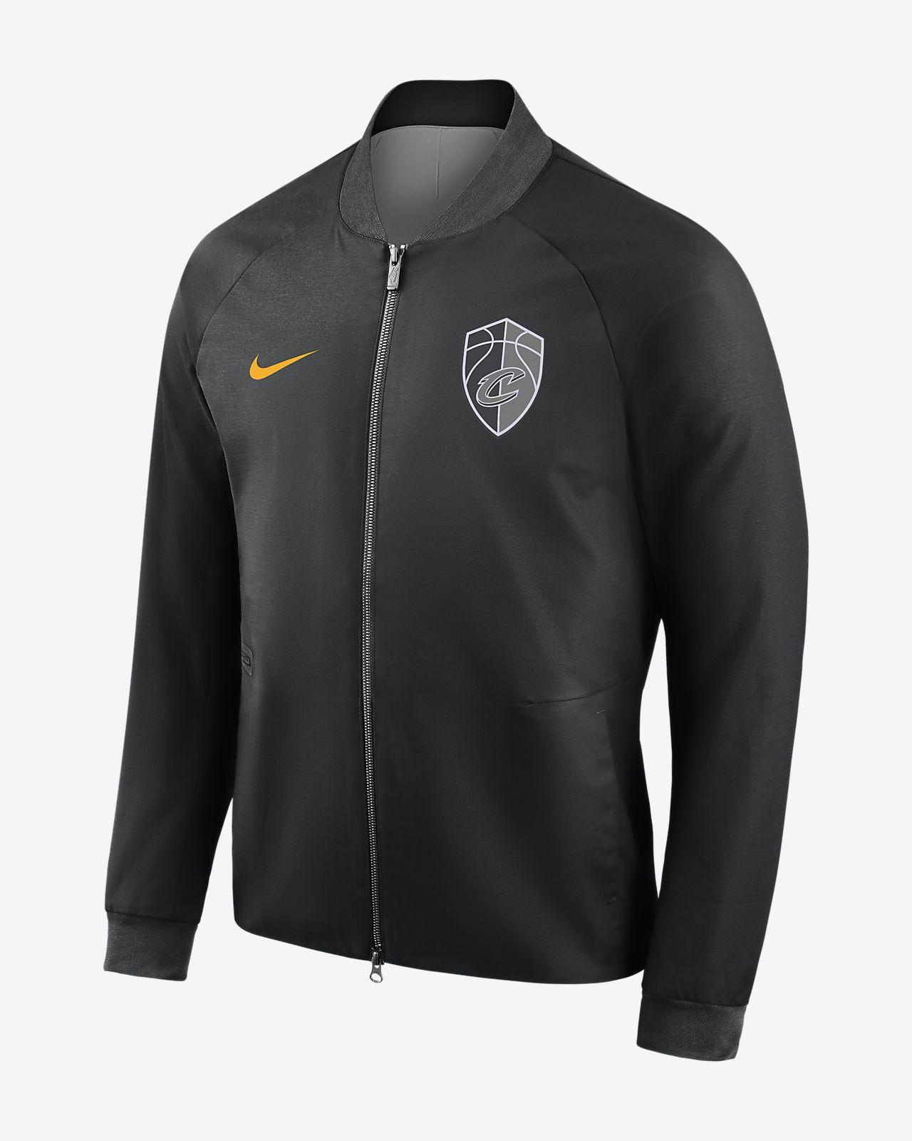 cae9bf50b4b6 Men s NBA Varsity Jacket. Cleveland Cavaliers City Edition Nike Modern