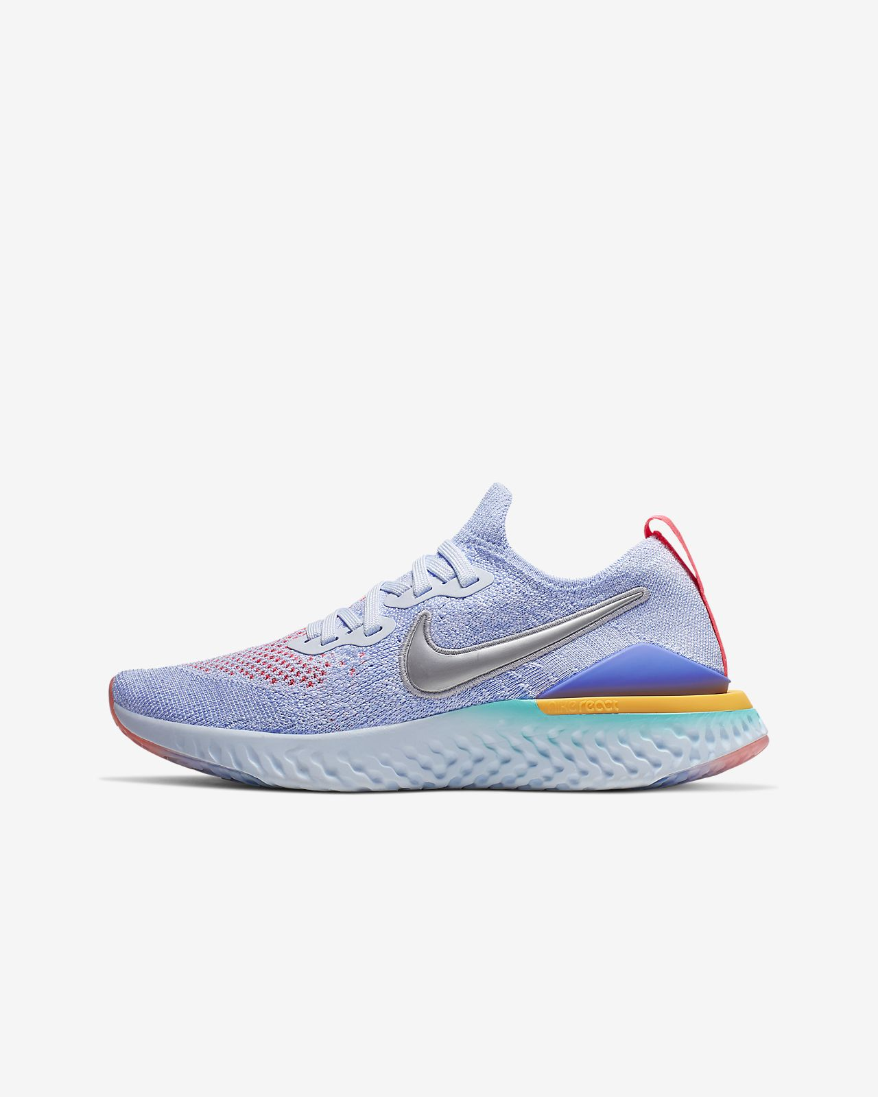 Nike Epic React Flyknit 2 Big Kids' Running Shoe