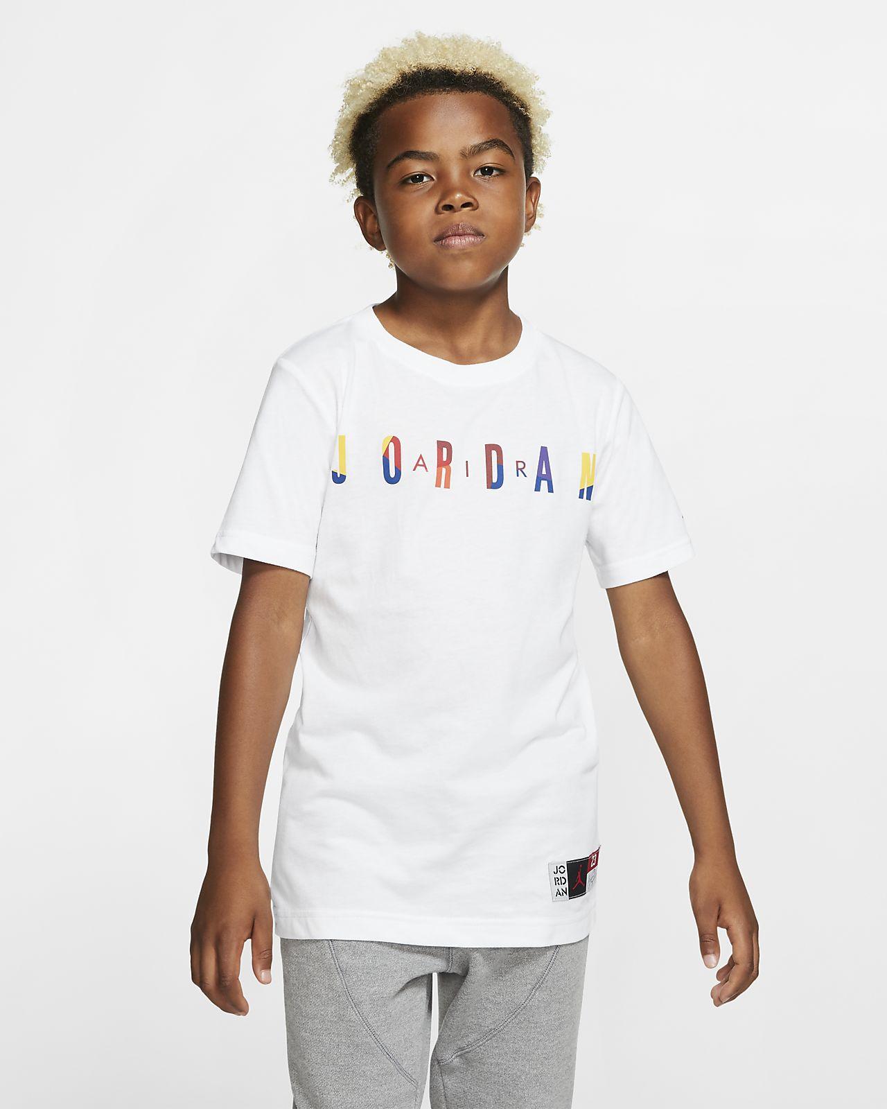 Air Jordan Kurzarm-T-Shirt für ältere Kinder (Jungen)