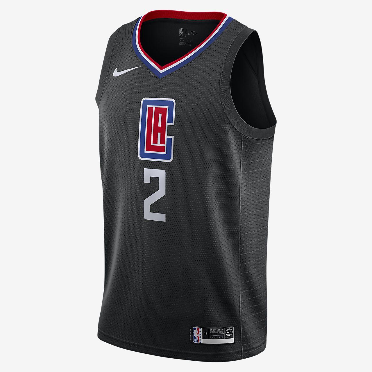 Kawhi Leonard Clippers Statement Edition Nike NBA Swingman Jersey
