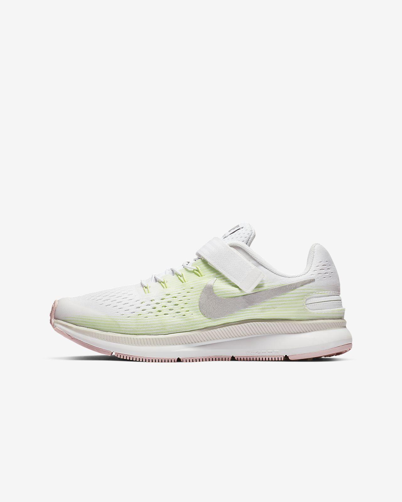 Беговые кроссовки для дошкольников/школьников Nike Zoom Pegasus 34 FlyEase