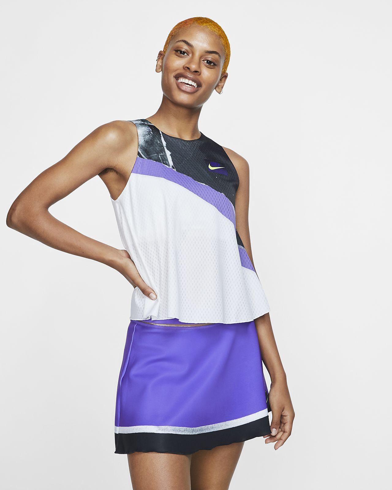 NikeCourt 2-in-1-Tennis-Tanktop für Damen