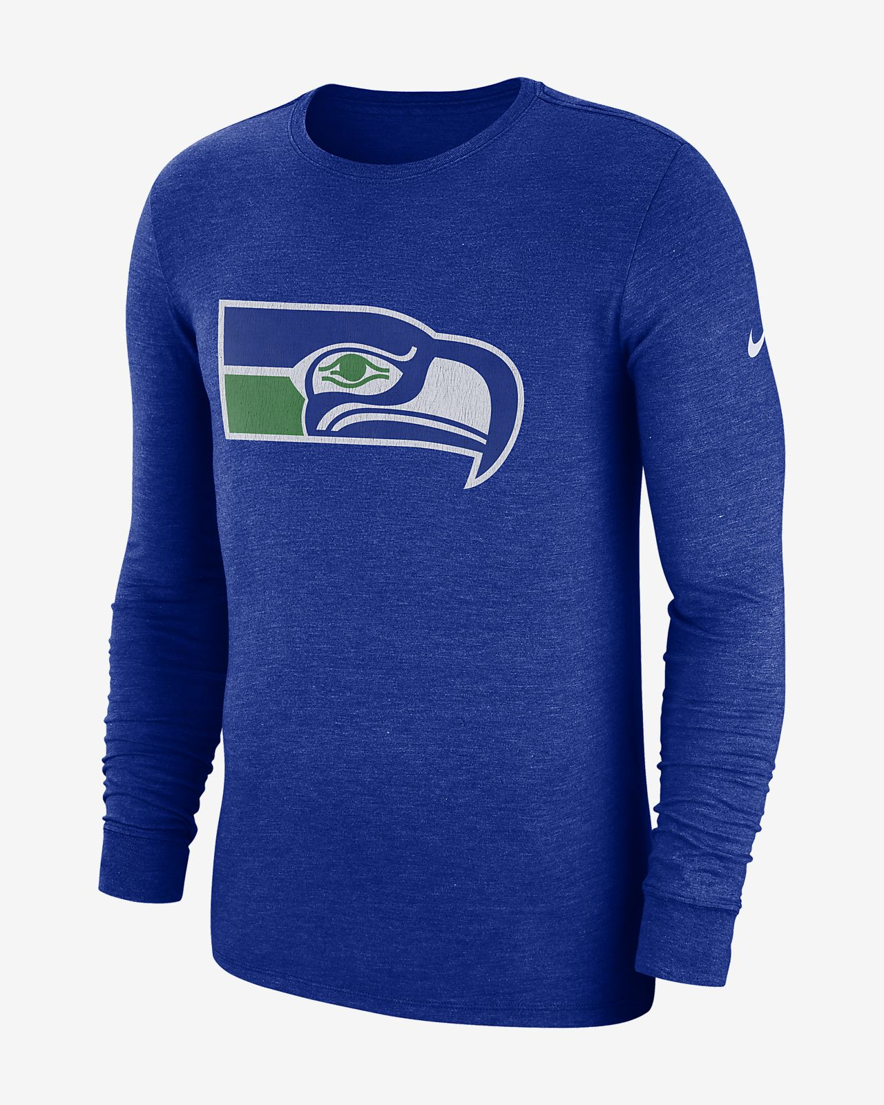 1e9588d87 Nike (NFL Seahawks) Men s Tri-Blend Long Sleeve T-Shirt. Nike.com