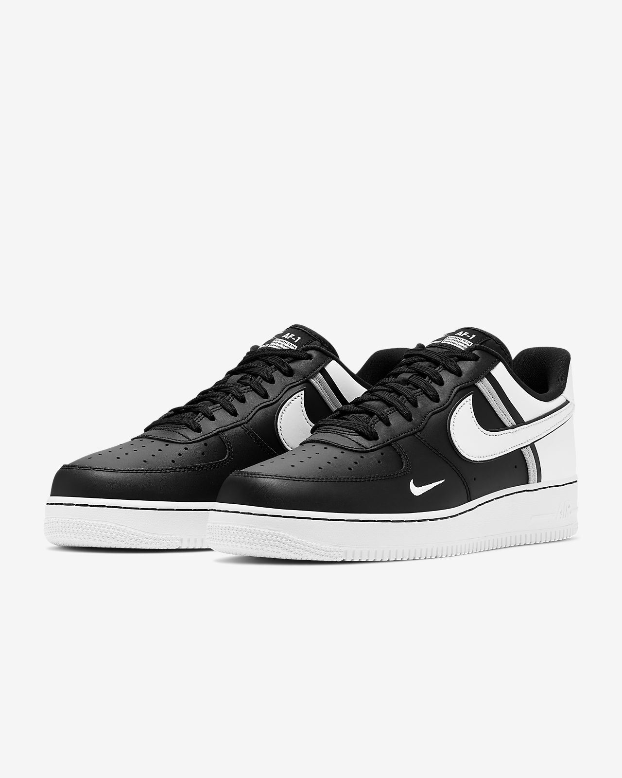 Nike Men Air Force 1 07 Low (black black)