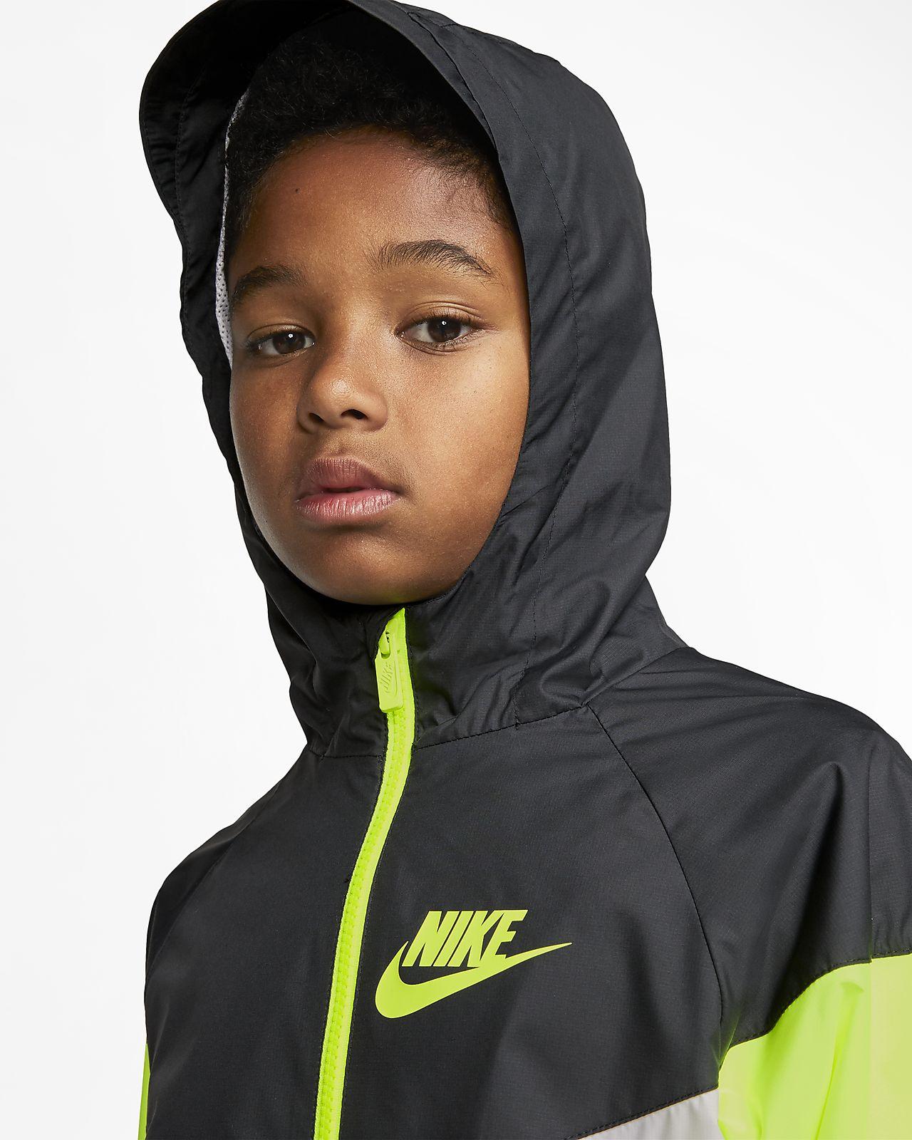 Nike Sportswear Windrunner Jacke für ältere Kinder (Jungen