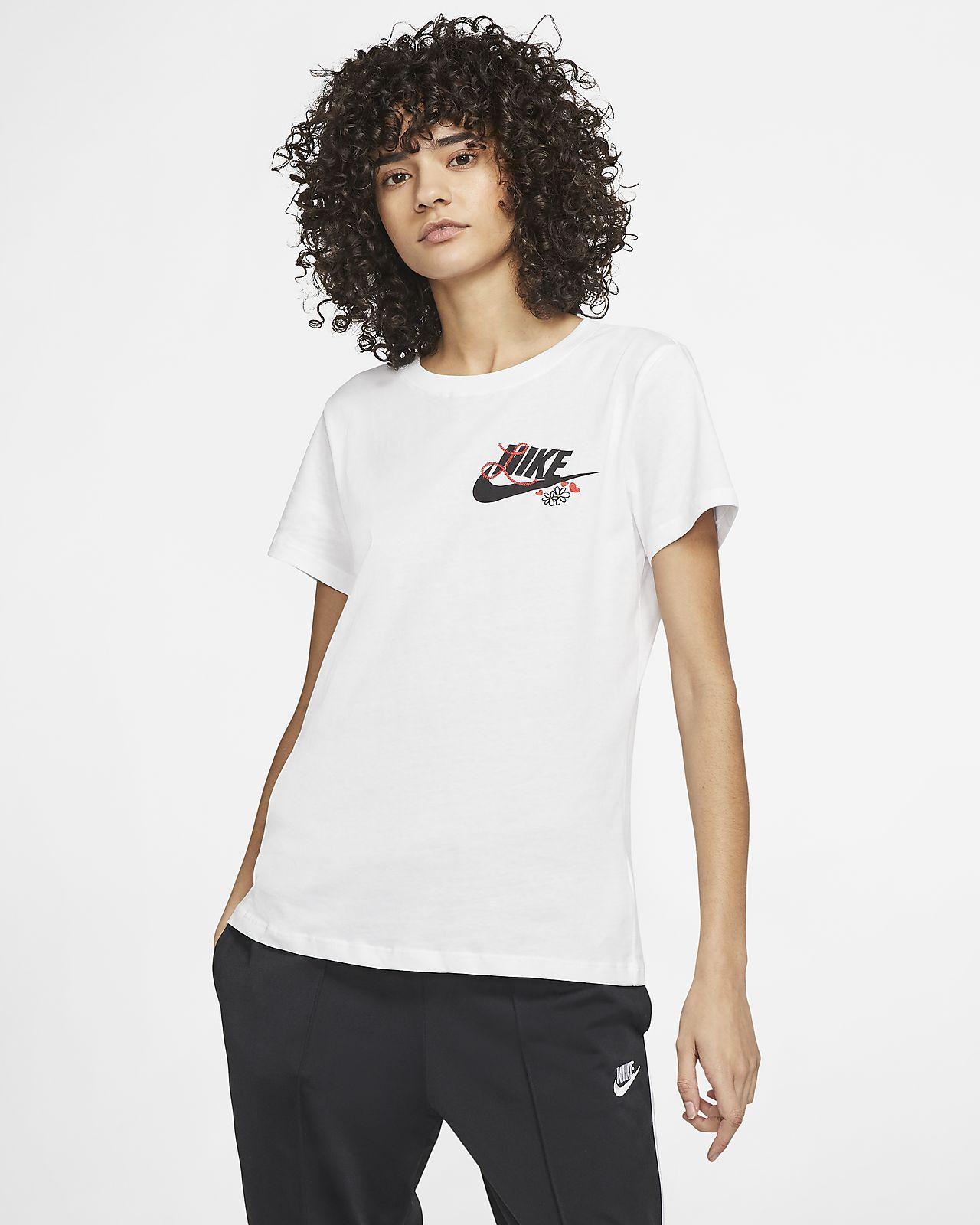 tee shirt nike femmes