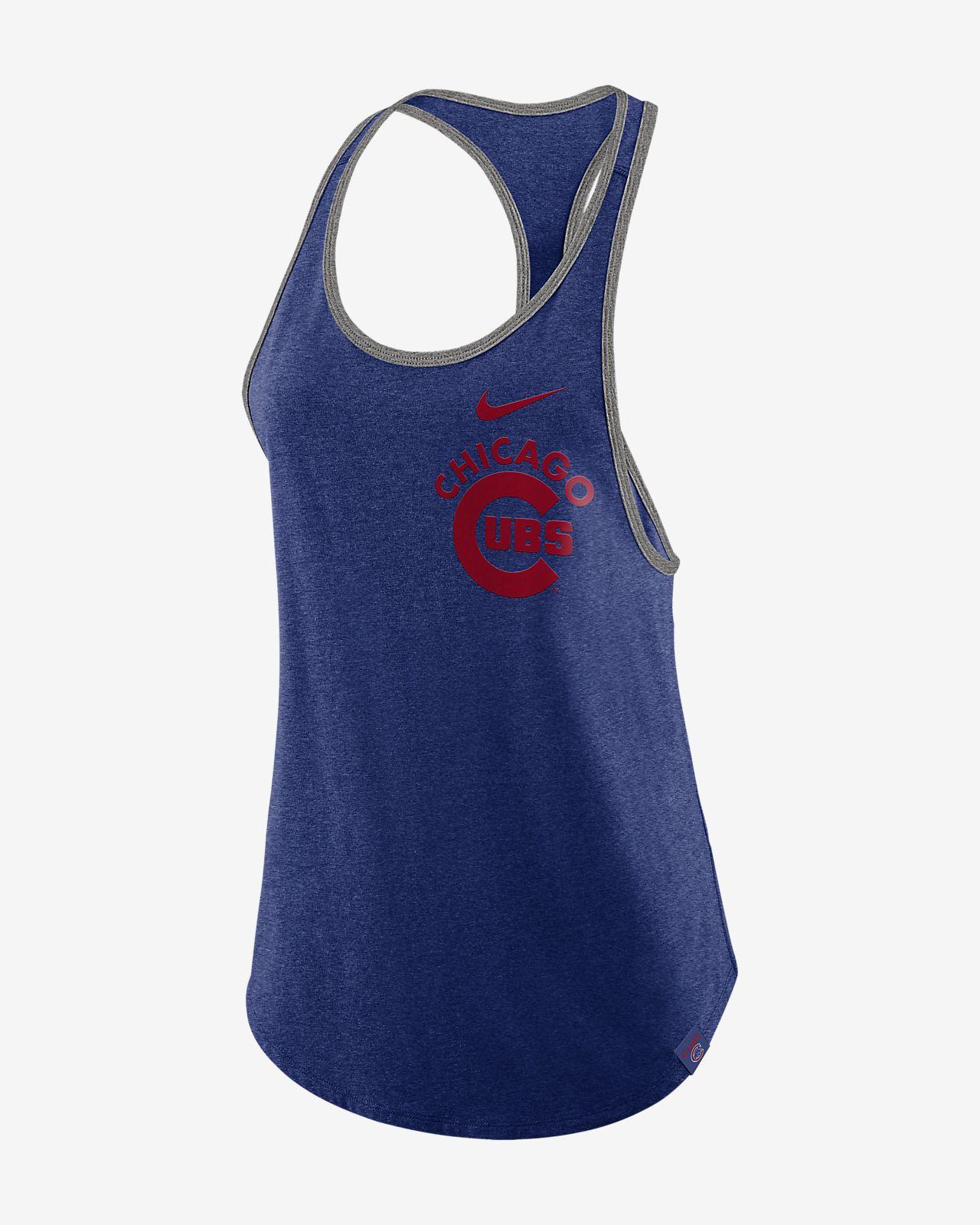 Nike Tri Racerback (MLB Cubs) Women s Tank Top. Nike.com 51ba008118