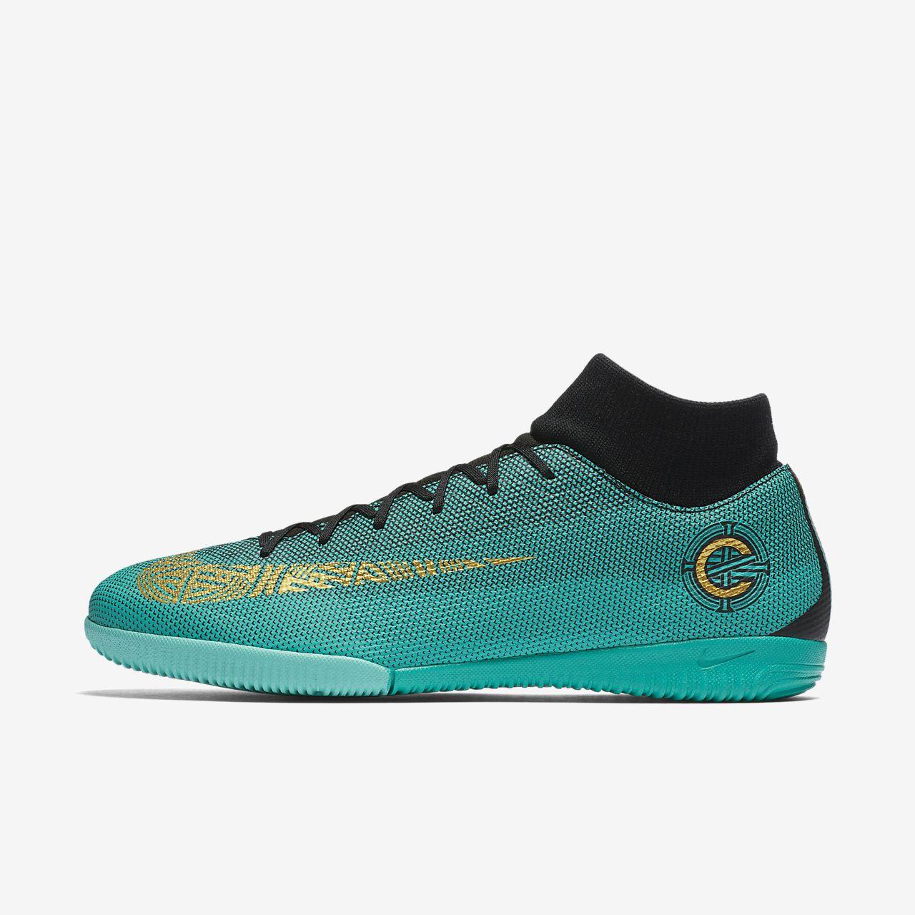 ... Nike MercurialX Superfly VI Academy CR7 IC Indoor/Court Football Shoe
