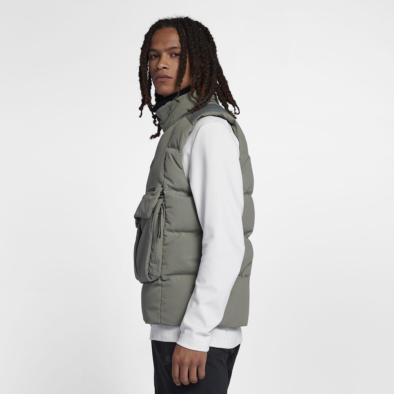 de69531e185 Veste sans manches Nike Sportswear Tech Pack Down Fill pour Homme ...