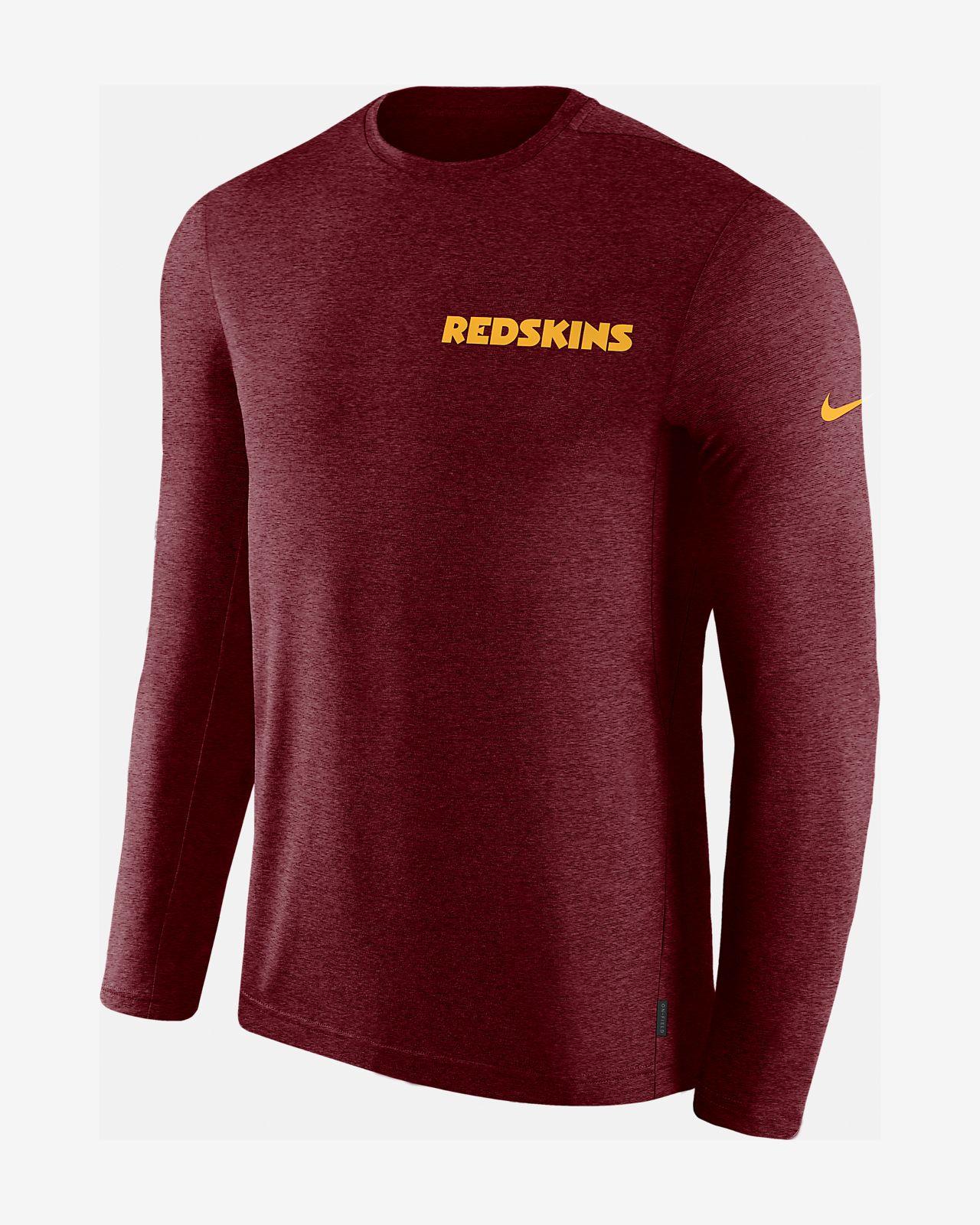 4a11a6504a1399 Nike Dri-FIT Coach (NFL Redskins) Men s Long-Sleeve Top. Nike.com