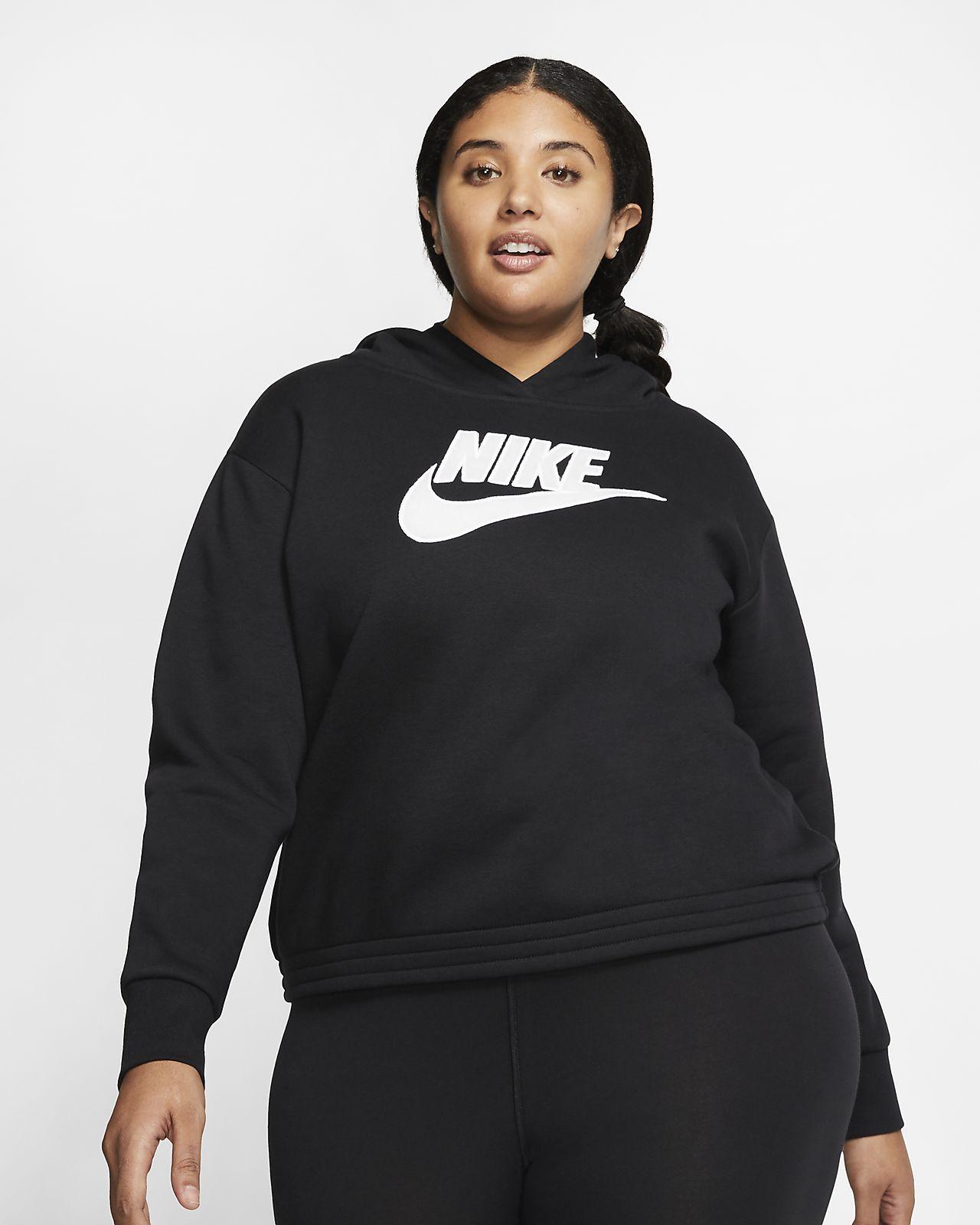 Nike Sportswear Icon Clash Women's Fleece Hoodie (Plus Size)