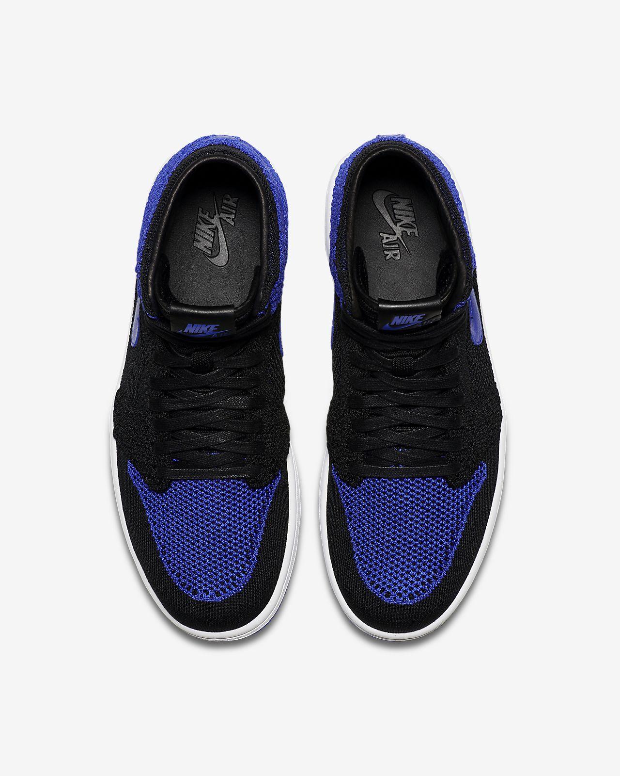 84395b67 Мужские кроссовки Air Jordan 1 Retro High Flyknit. Nike.com RU
