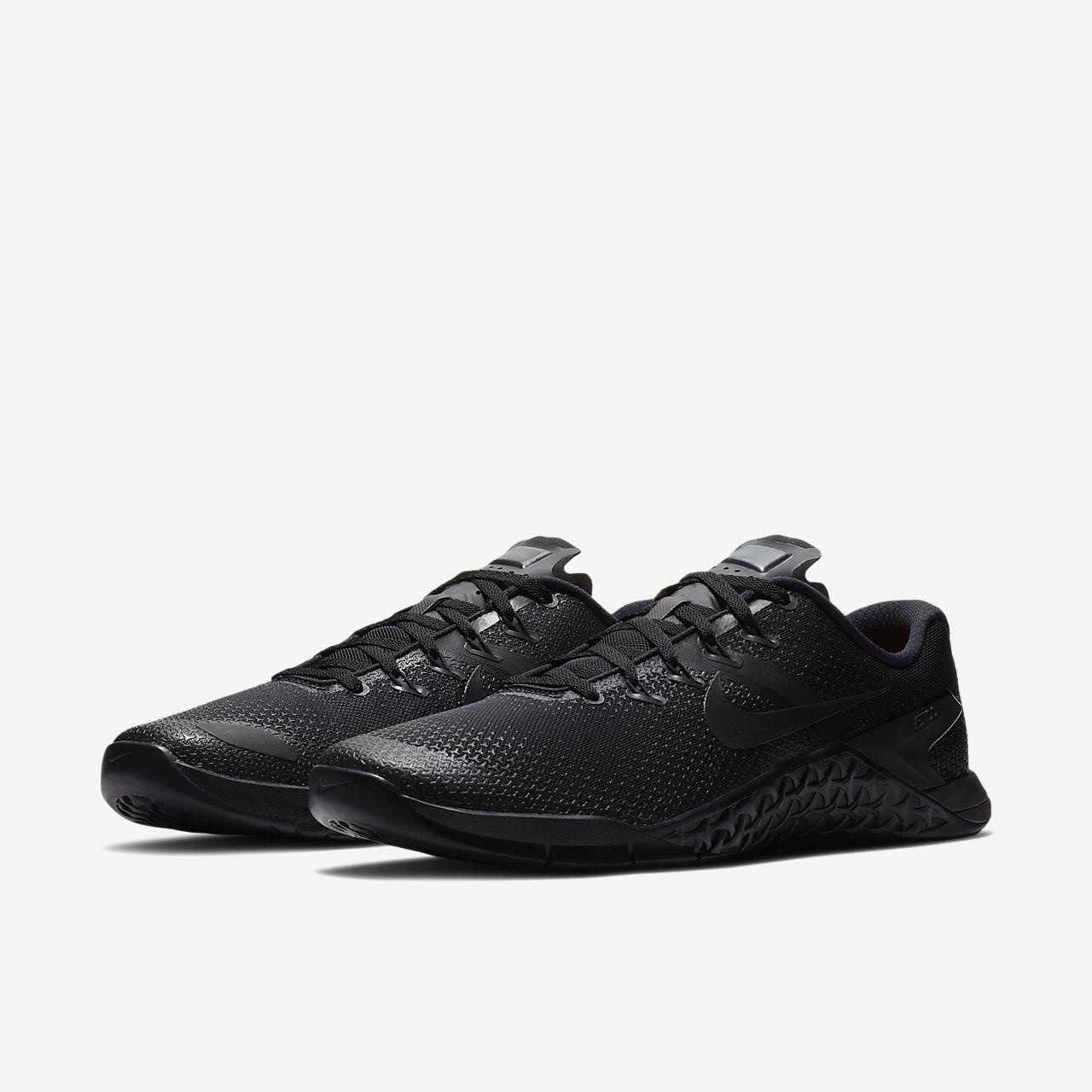 chaussure de cross training et de renforcement musculaire nike metcon 4 pour homme ca. Black Bedroom Furniture Sets. Home Design Ideas