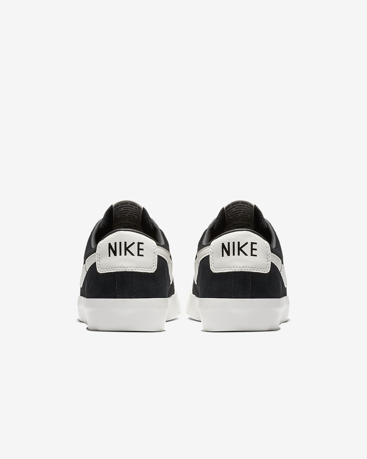Nike Court Royale Canvas Trainers Light Grey White Logo