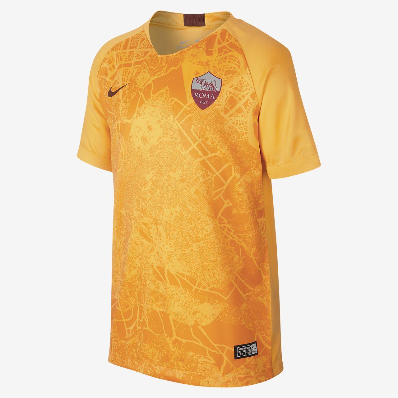 98645eb327b76 ... Camiseta de fútbol para niños talla grande alternativa A.S. Roma  Stadium