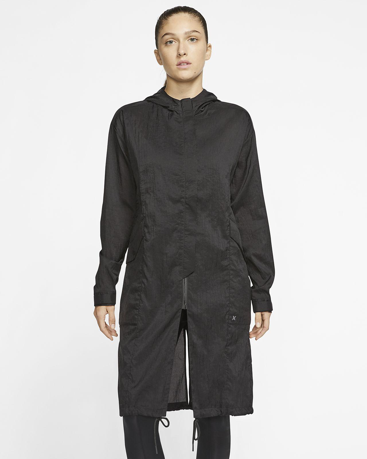 Nike Sportswear Trench Giacca Donna Nero Abbigliamento