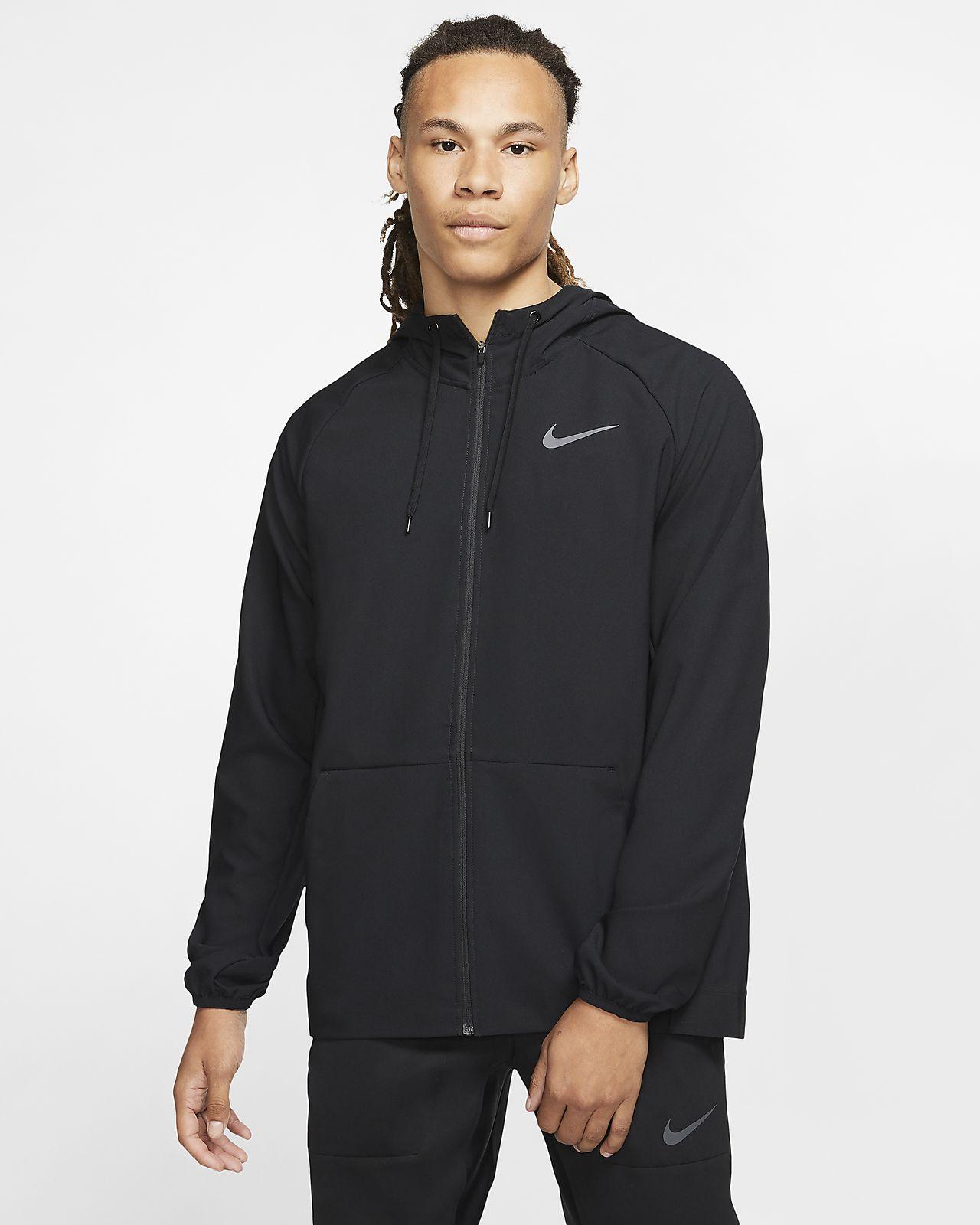 Sweat à capuche de training à zip Nike Flex pour Homme