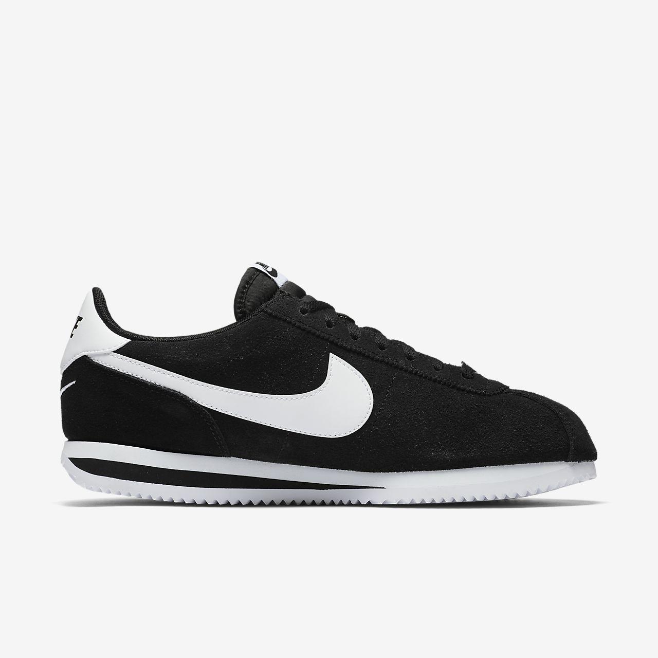 Nike Cortez De Base Se Chaussures Noires DFLWh