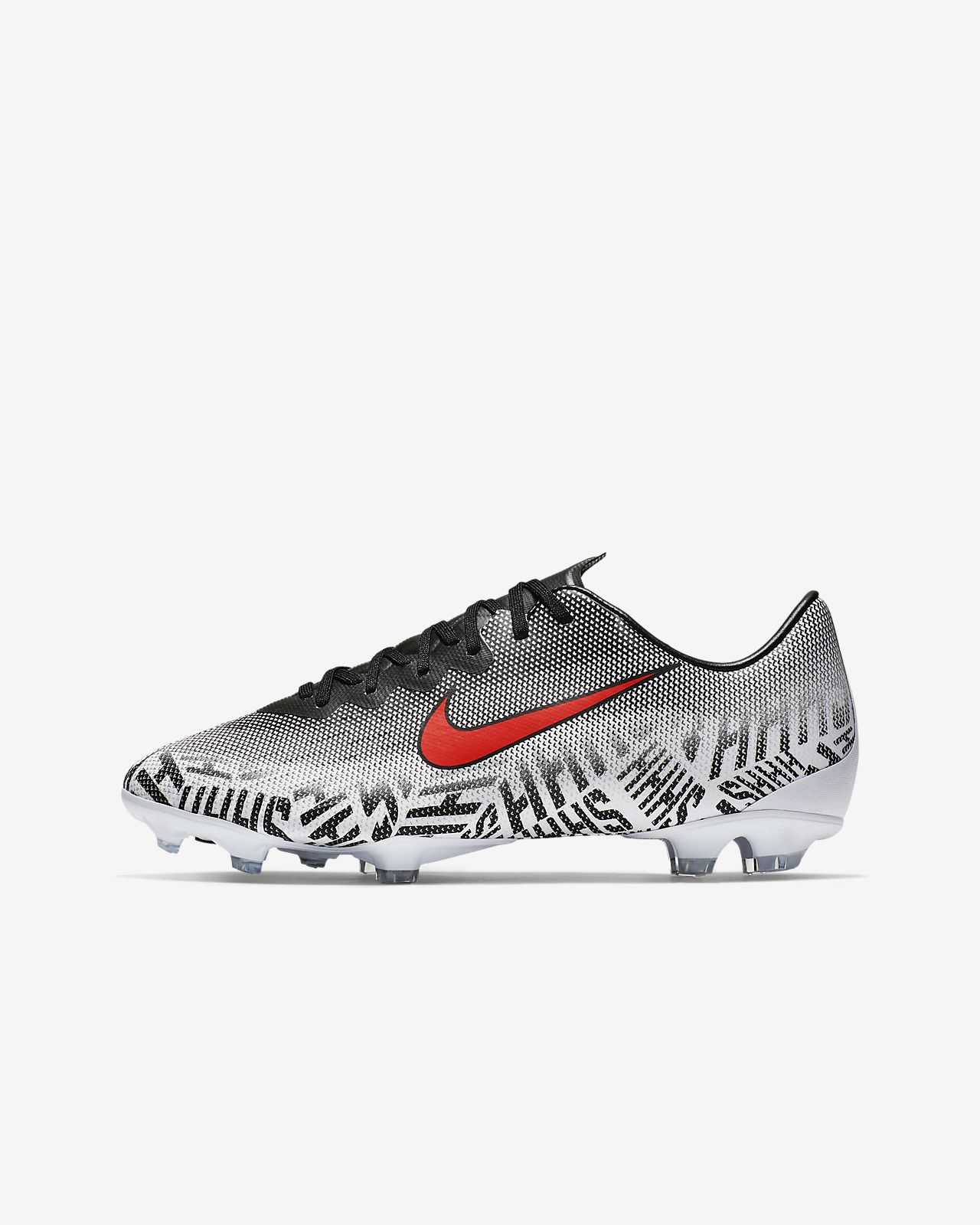 Scarpa da calcio per terreni duri Nike Jr. Mercurial Vapor 12 Elite Neymar Jr. FG - Ragazzi