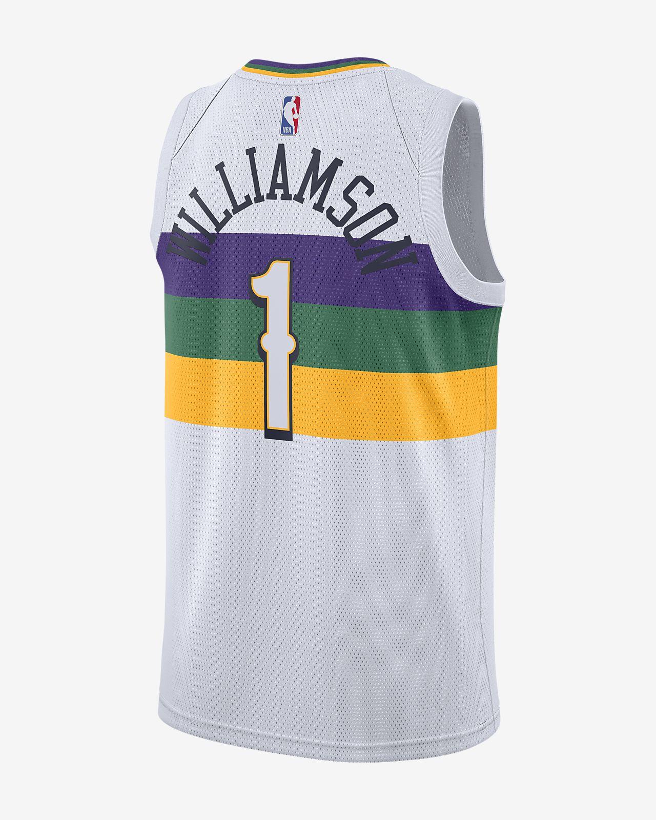 City Edition Swingman New Orleans Pelicans Men S Nike Nba Connected Jersey