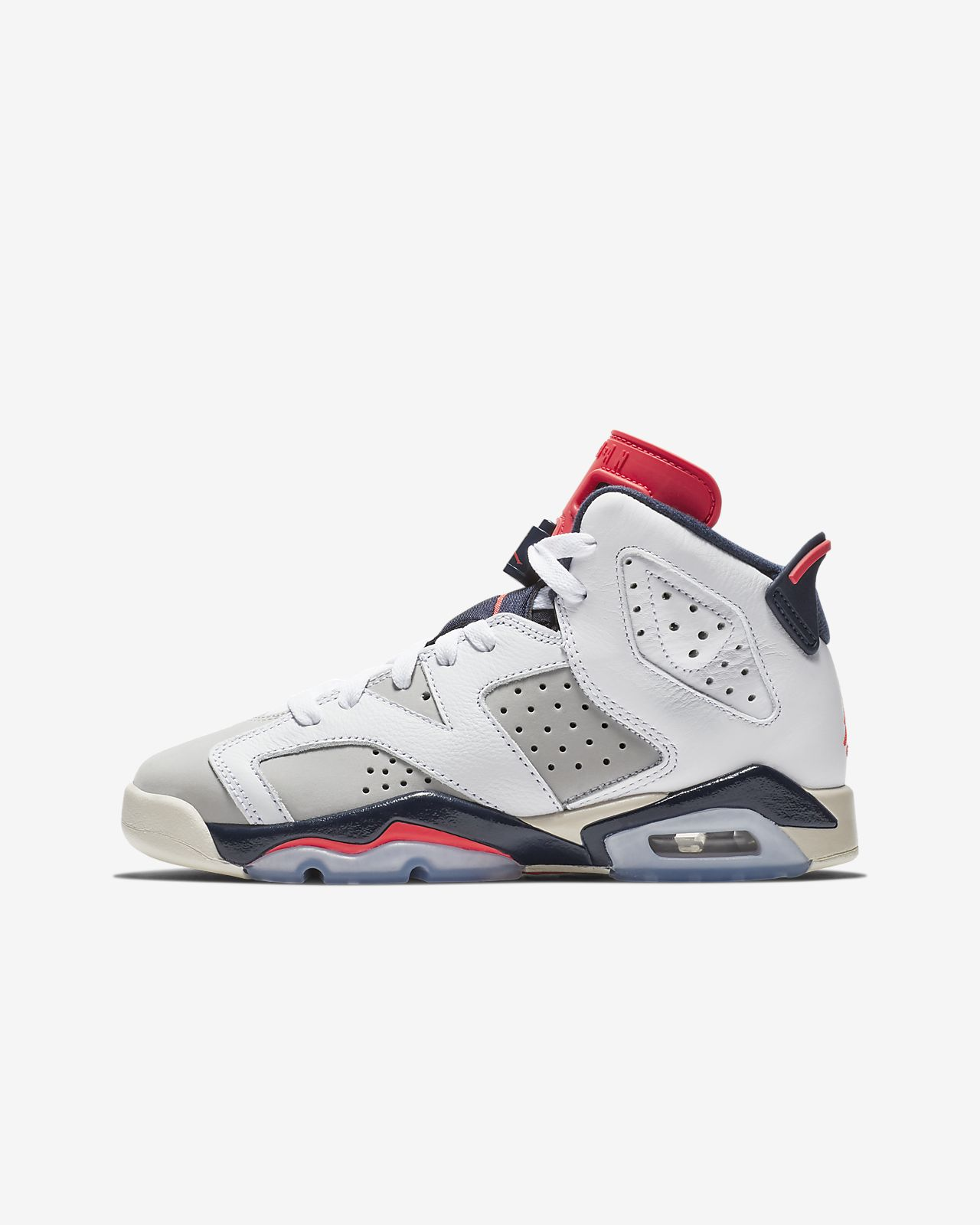 Air Jordan 6 Retro Big Kids Shoe
