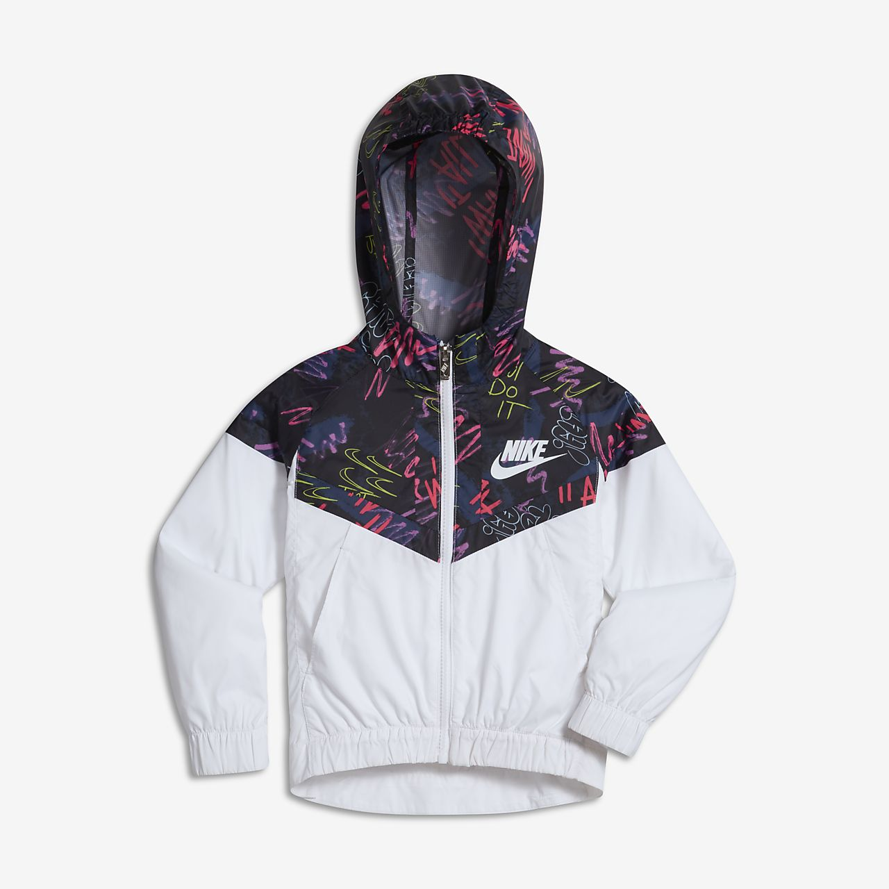 Nike Sportswear Windrunner Little Kids (Girls ) Jacket ... 6c15de9a524