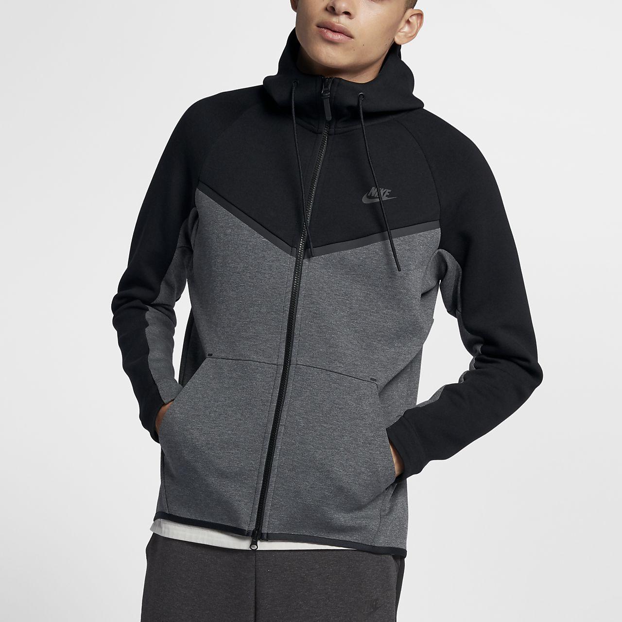 nike sportswear tech fleece windrunner men 39 s full zip hoodie sa. Black Bedroom Furniture Sets. Home Design Ideas