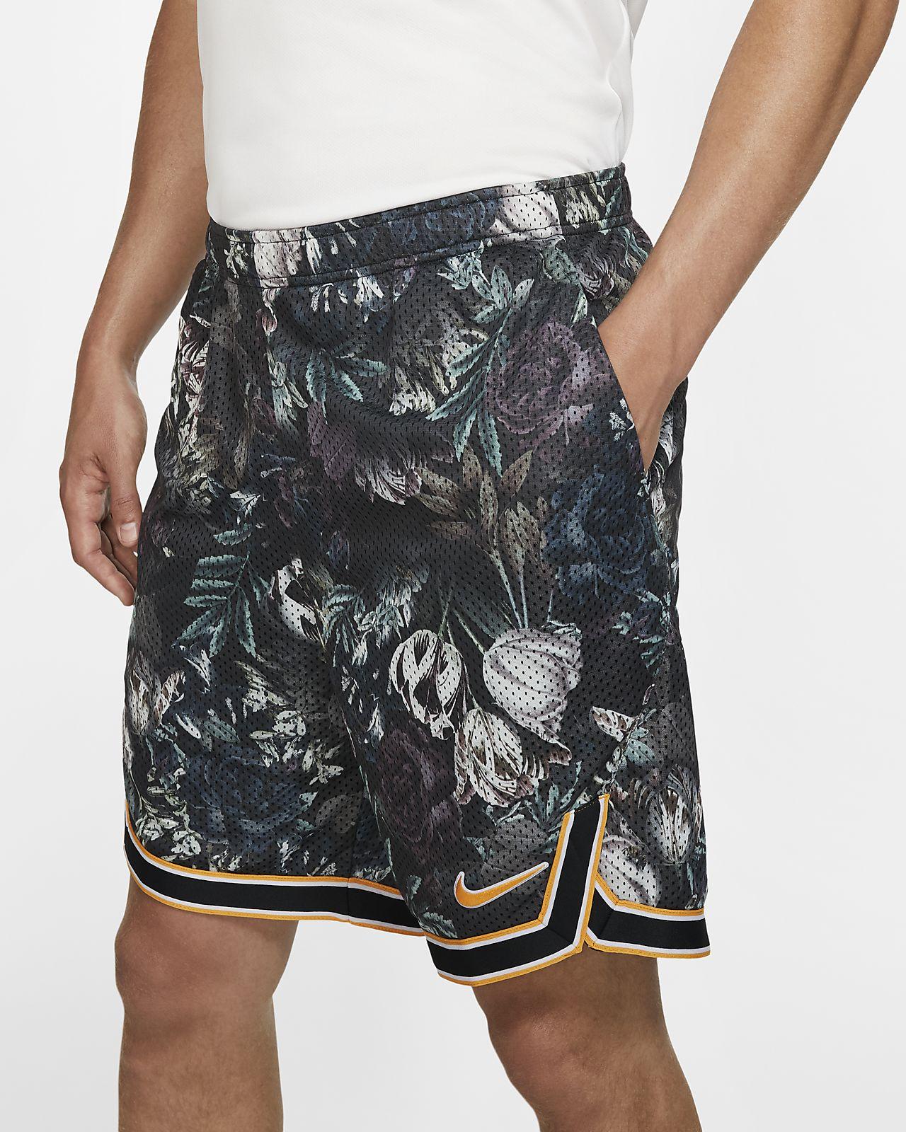 กางเกงเทนนิสขาสั้น 9 นิ้วผู้ชายพิมพ์ลาย NikeCourt Flex Ace