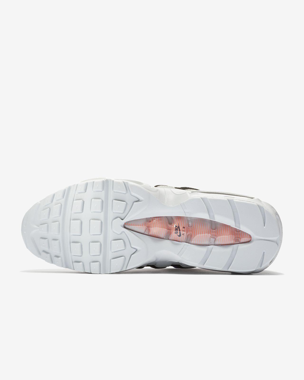 Nike Air Max 95 Essential Pure PlatinumBright MangoRacer