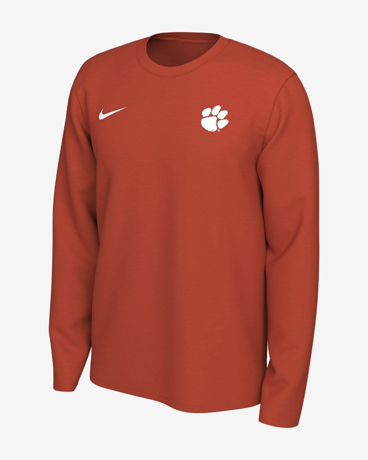 Nike Legend (Clemson) Men's Long-Sleeve Logo T-Shirt