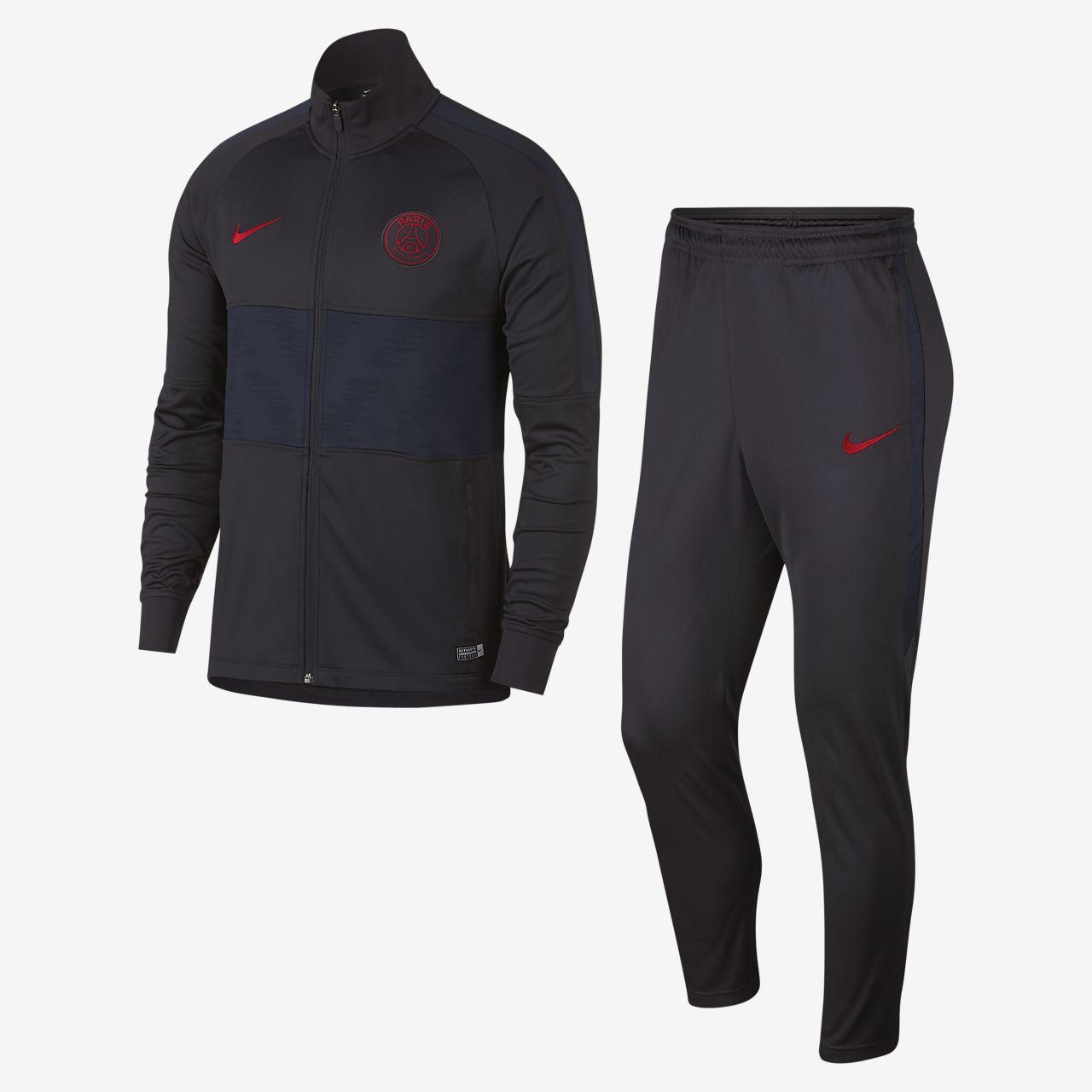 Conjunto de entrenamiento de fútbol para hombre Nike Dri-FIT Paris Saint-Germain Strike