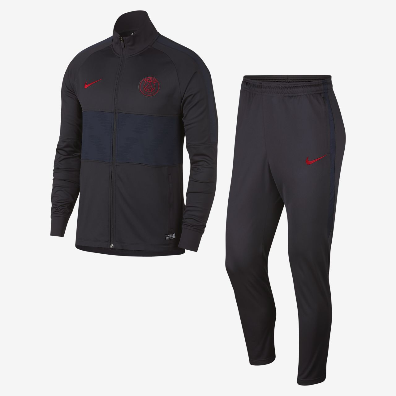 Nike Dri FIT Paris Saint Germain Strike Herren Fußball Trainingsanzug