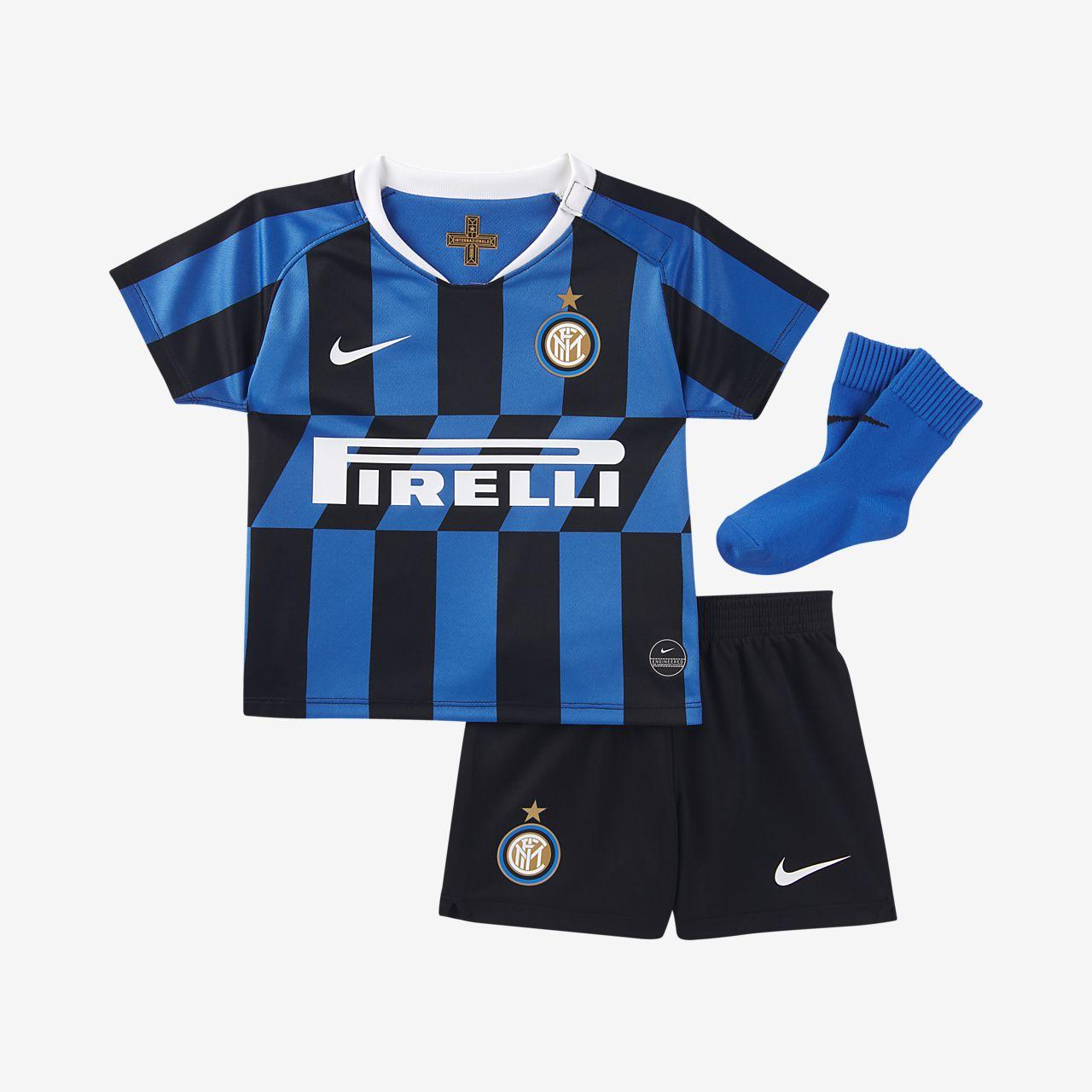 Ποδοσφαιρικό σετ Inter Milan 2019/20 Home για βρέφη και νήπια