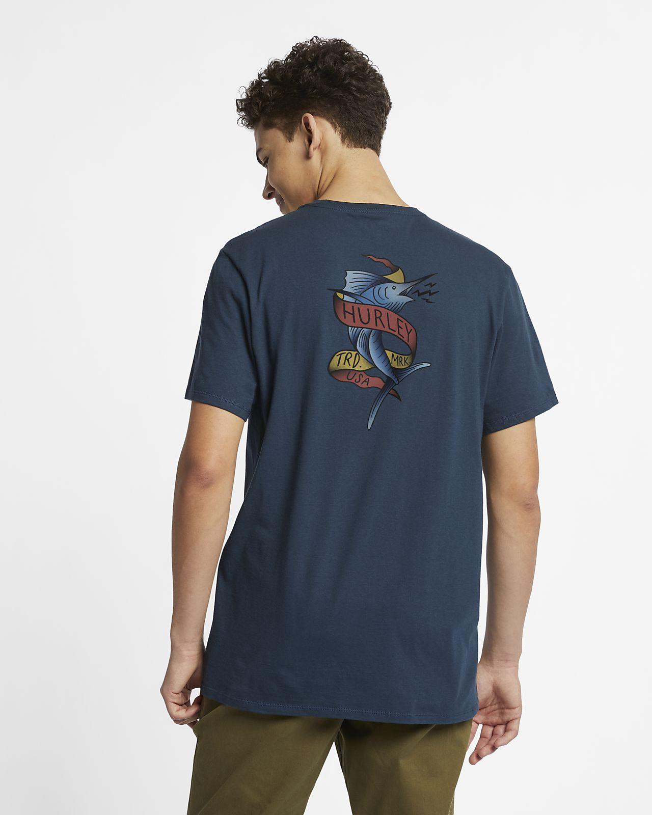 Hurley Premium Marlin T-skjorte til herre