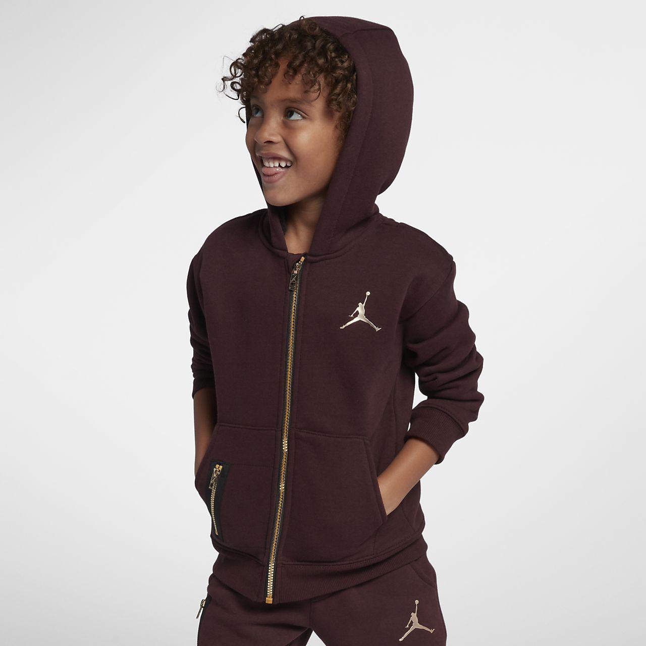 Jordan Younger Kids' Full-Zip Hoodie
