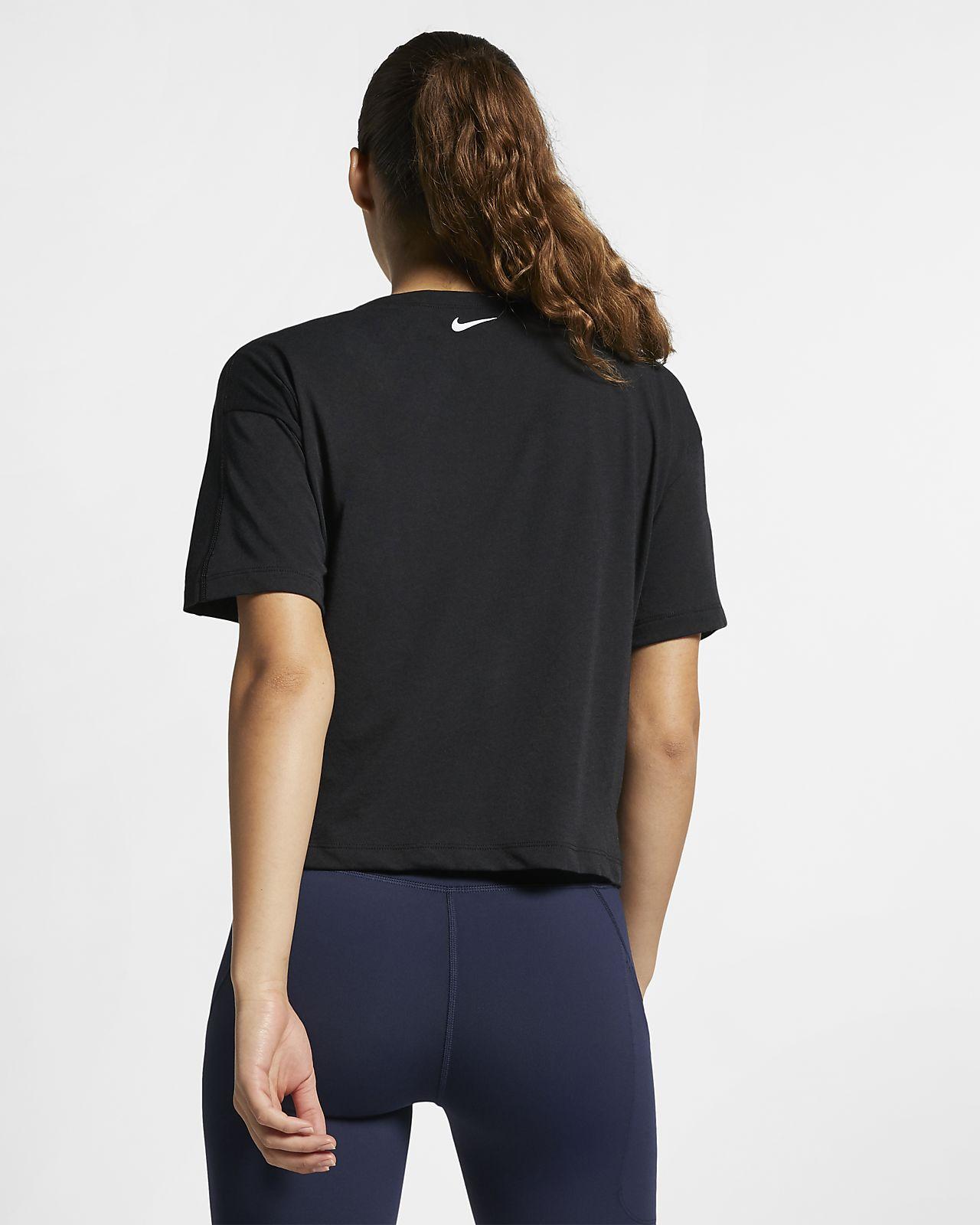 Nike Dri FIT Miler Kurzarm Laufoberteil für Damen