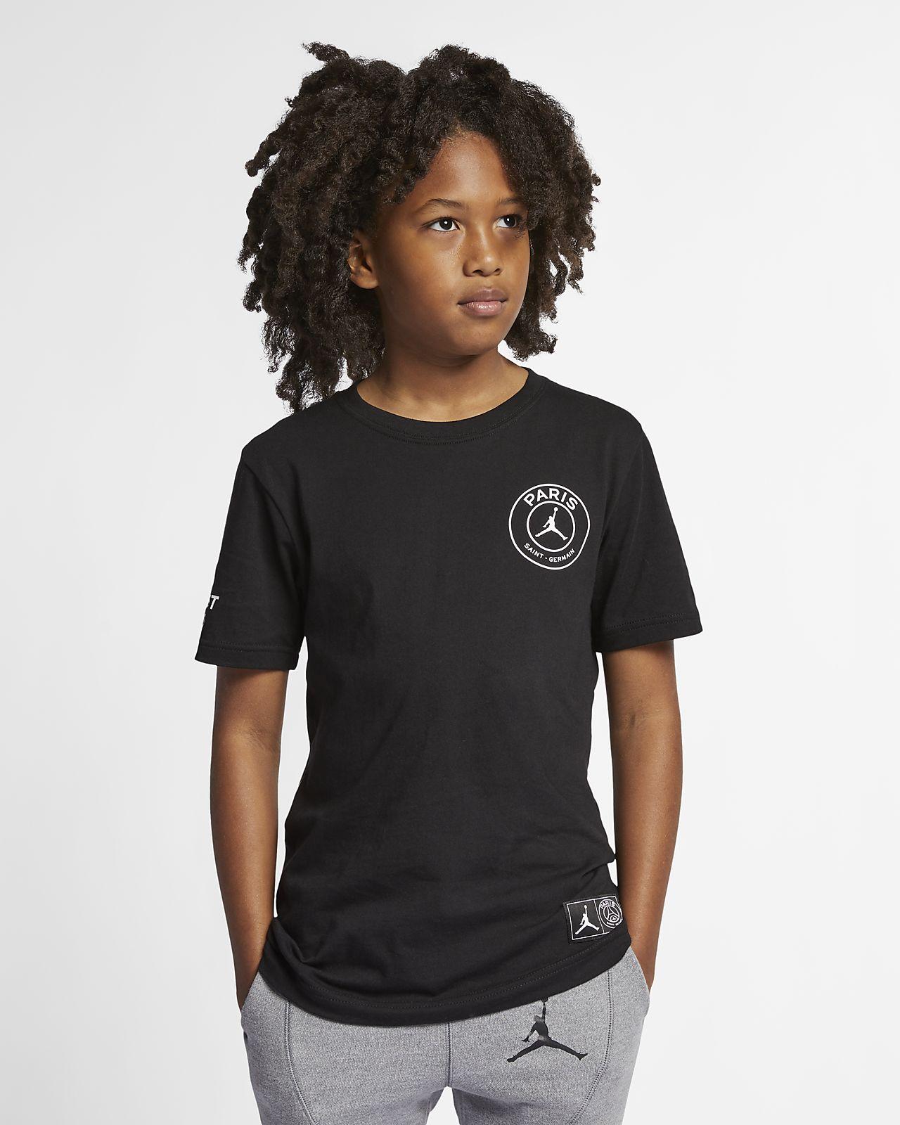 PSG Logo-T-Shirt für ältere Kinder