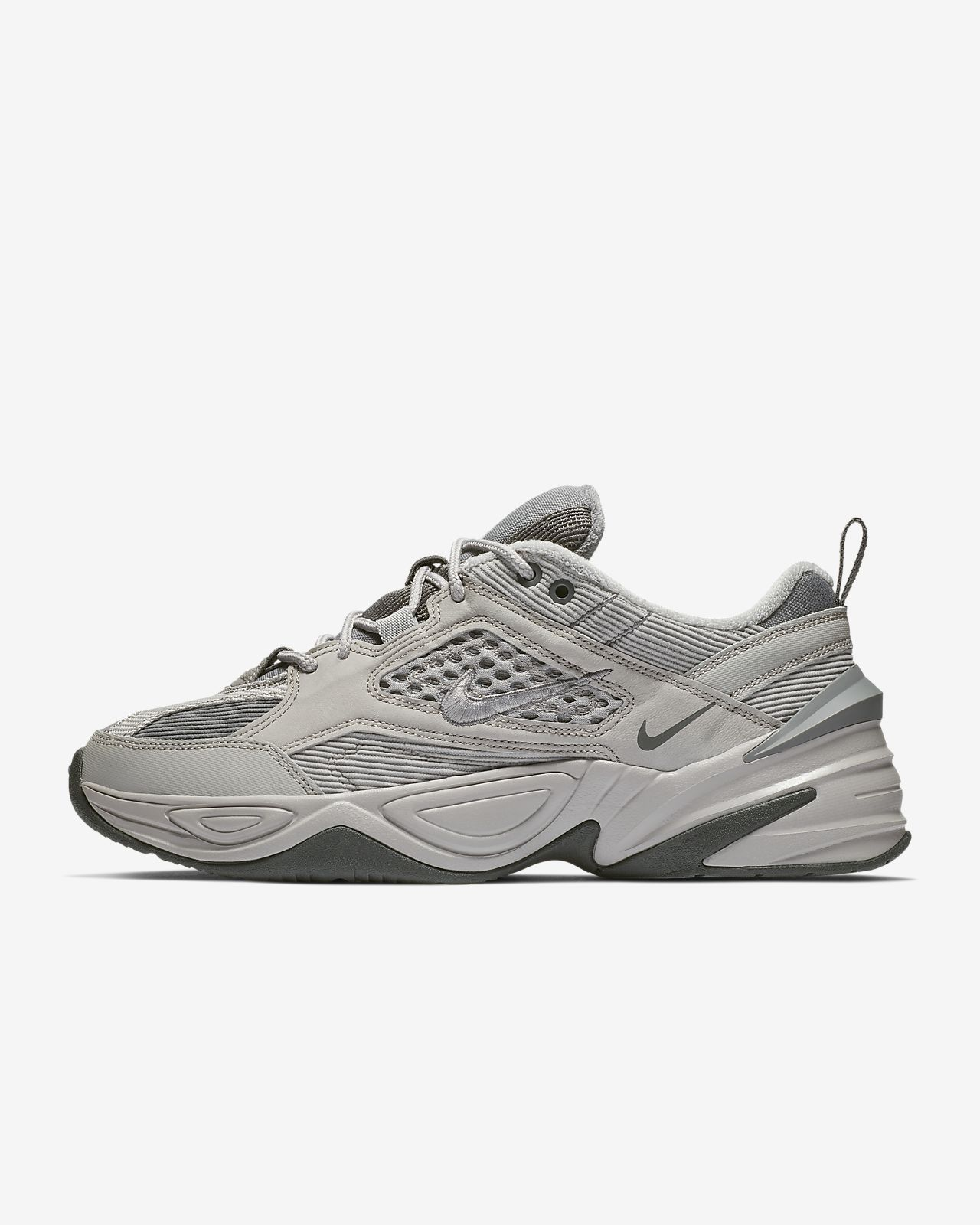 Men and Women's Nike M2K Tekno Atmosphere Grey BV7075 001