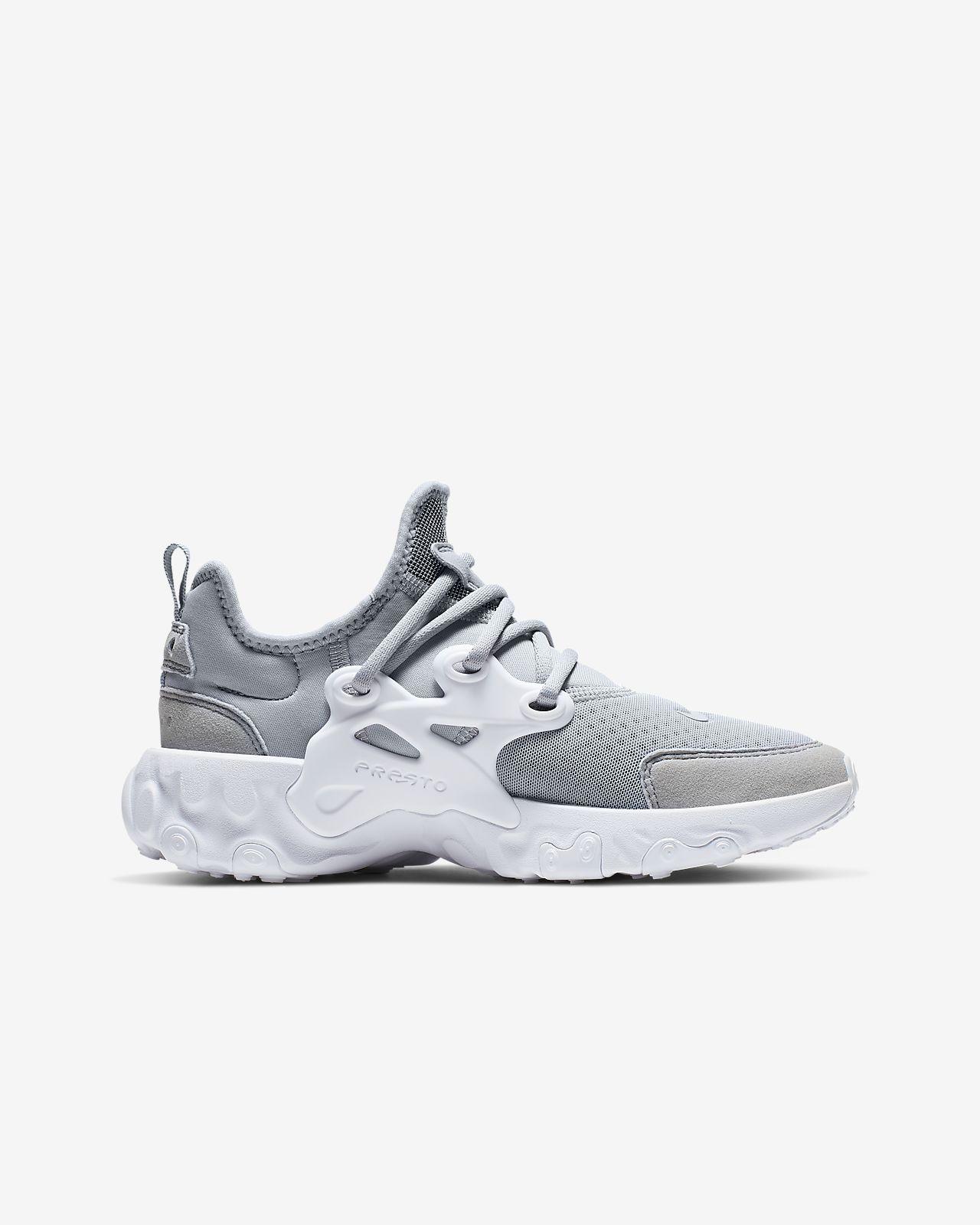 zapatillas niño nike gris