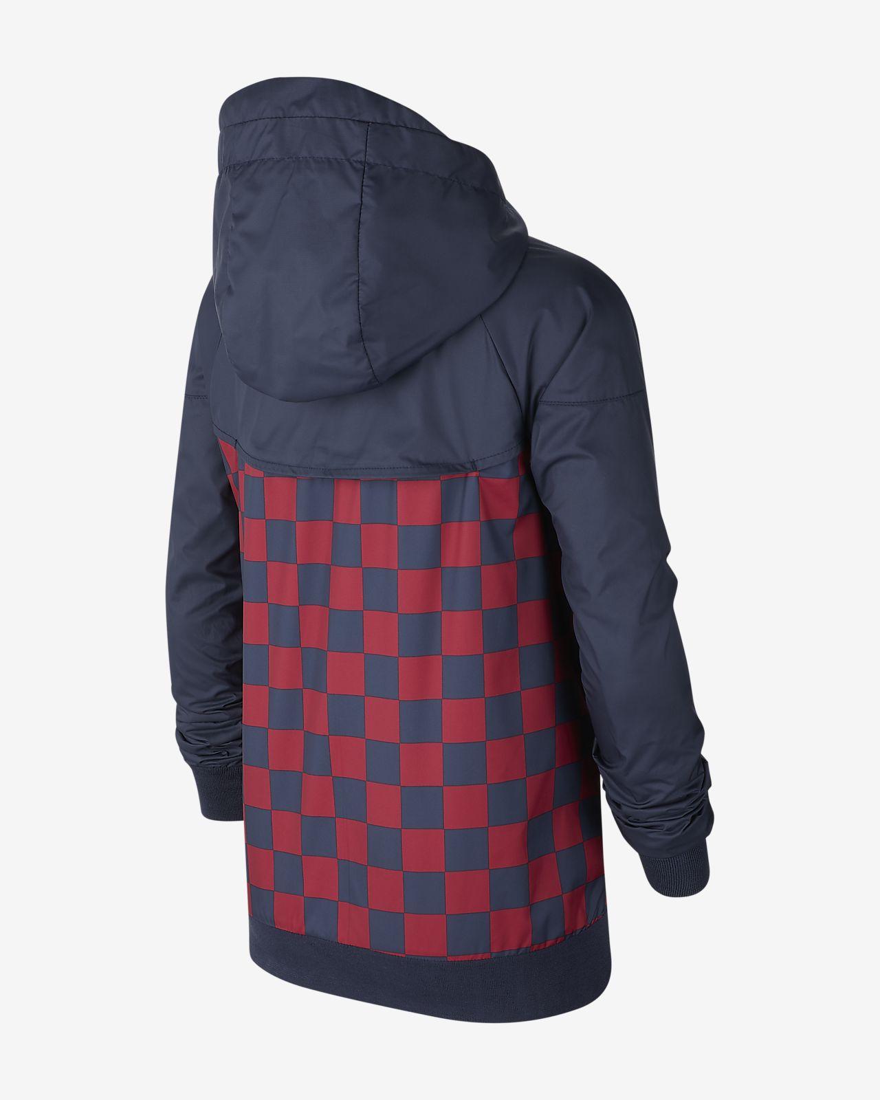 super popular 42c8d f5a4a FC Barcelona Windrunner Older Kids' Jacket