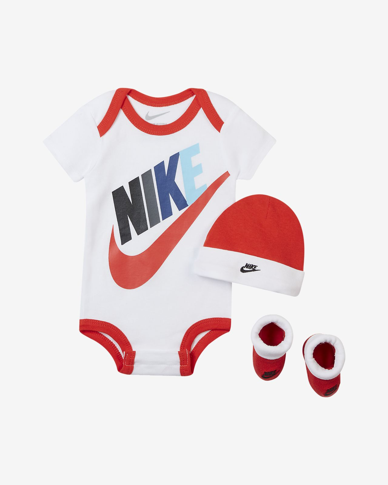 new product a22b3 51fa3 Nike Sportswear Baby 3-Piece Set. Nike.com