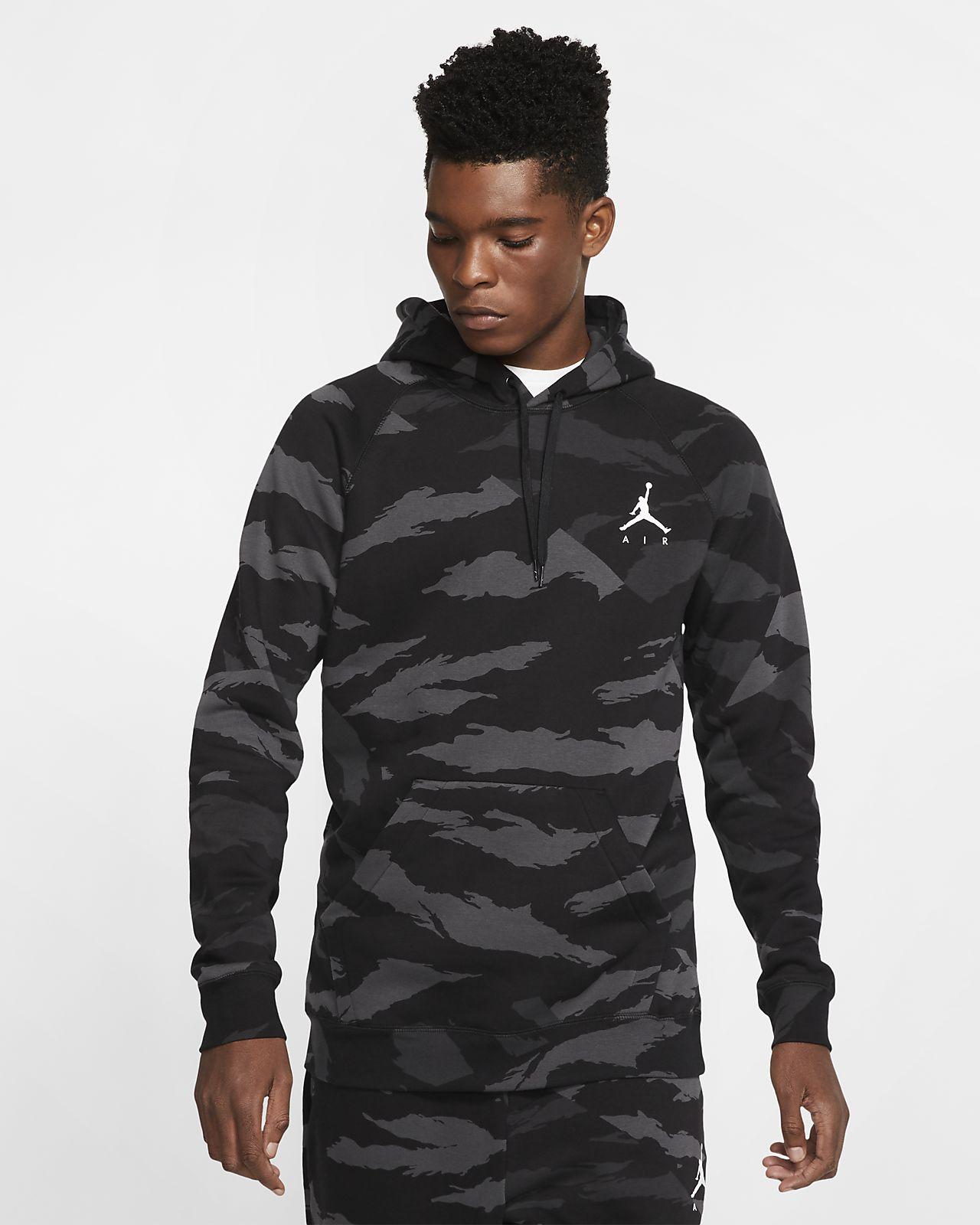 Jordan Jumpman-camopullover-hættetrøje i fleece til mænd