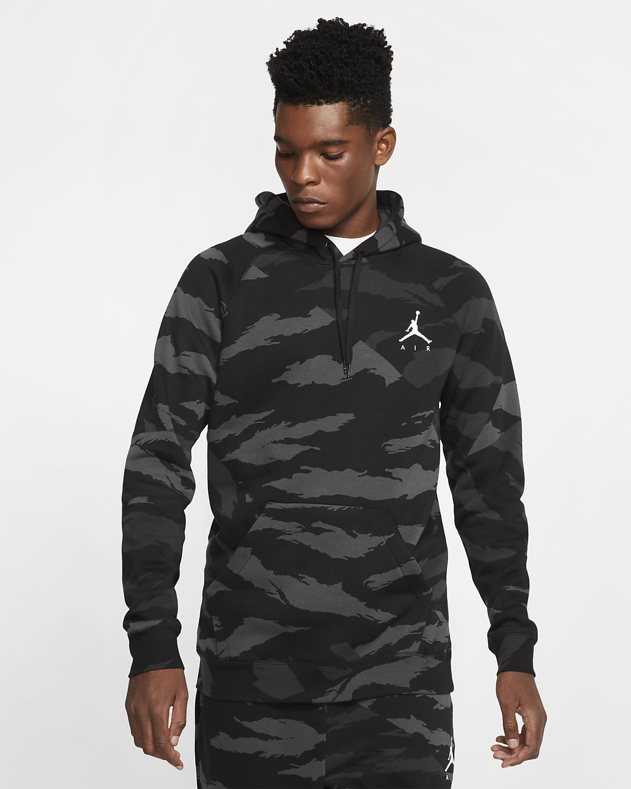 Jordan Jumpman Men's Fleece Camo Pullover Hoodie