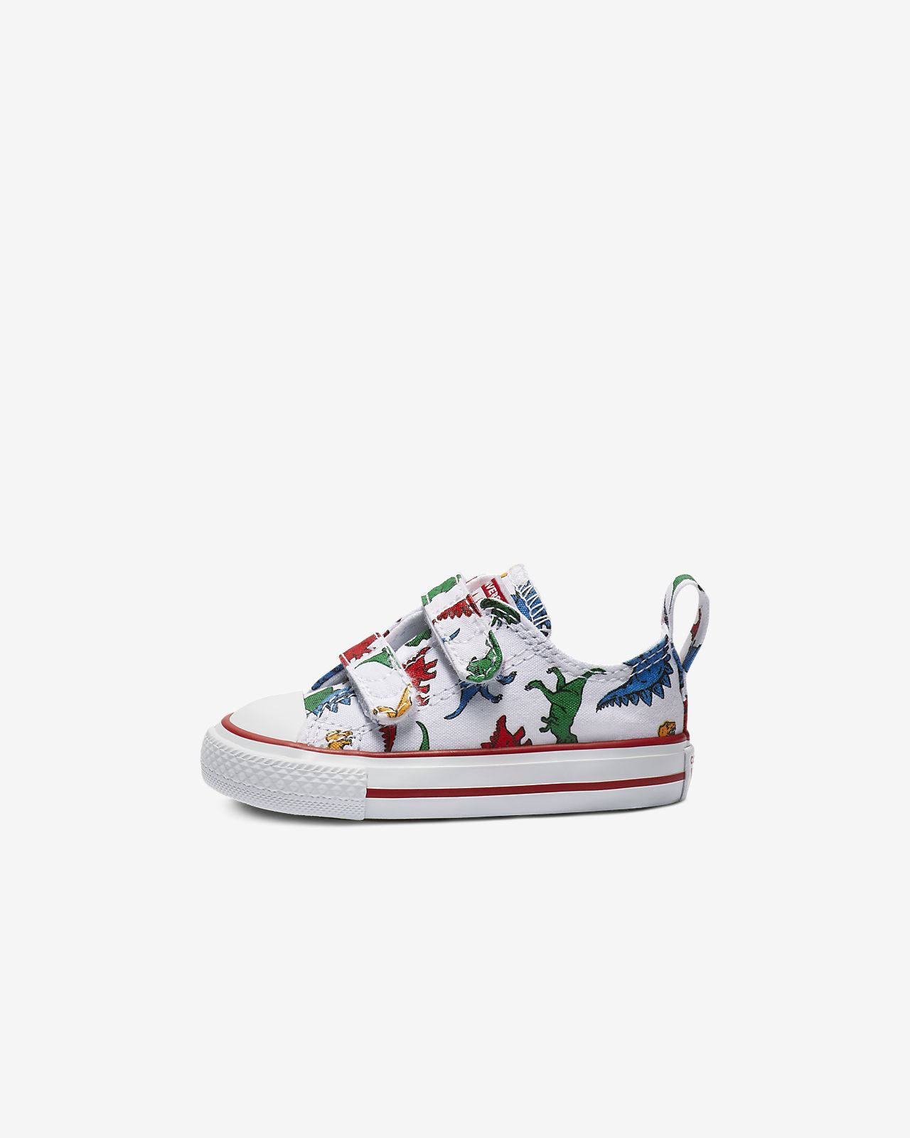 Converse Chuck Taylor All Star Hook and Loop Dinoverse Low Top Toddler Shoe