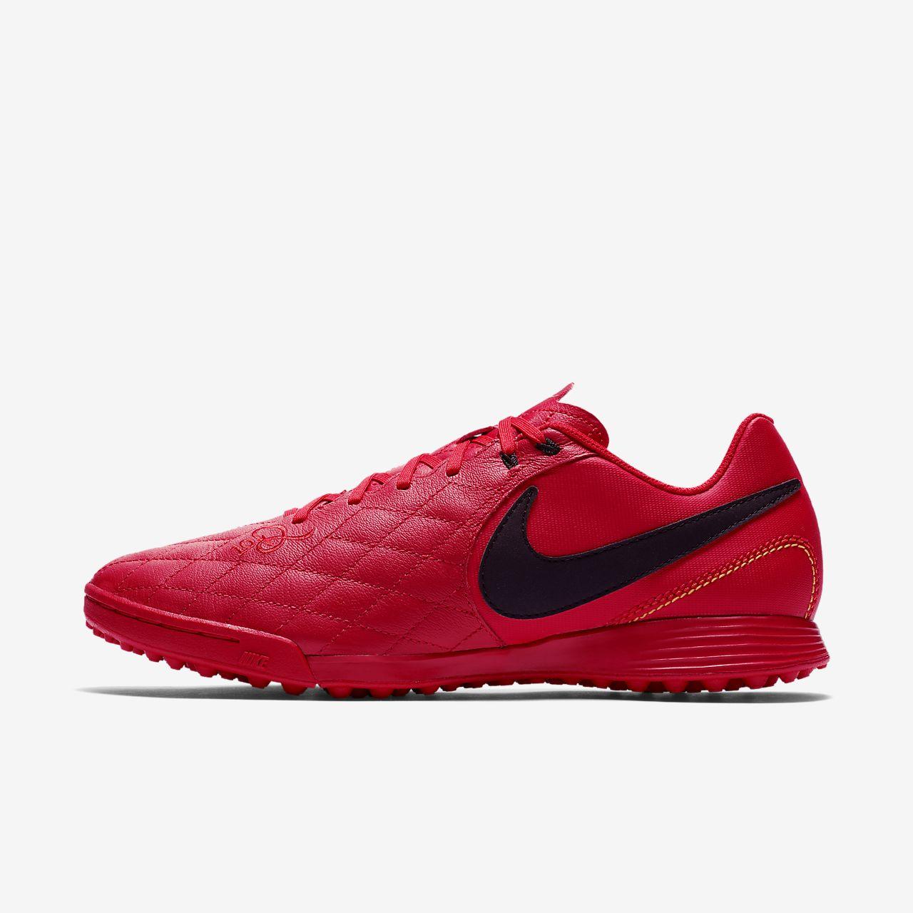 Nike TiempoX Ligera IV Artificial-Turf Men's Football Shoes Red/Black/White cS1792E