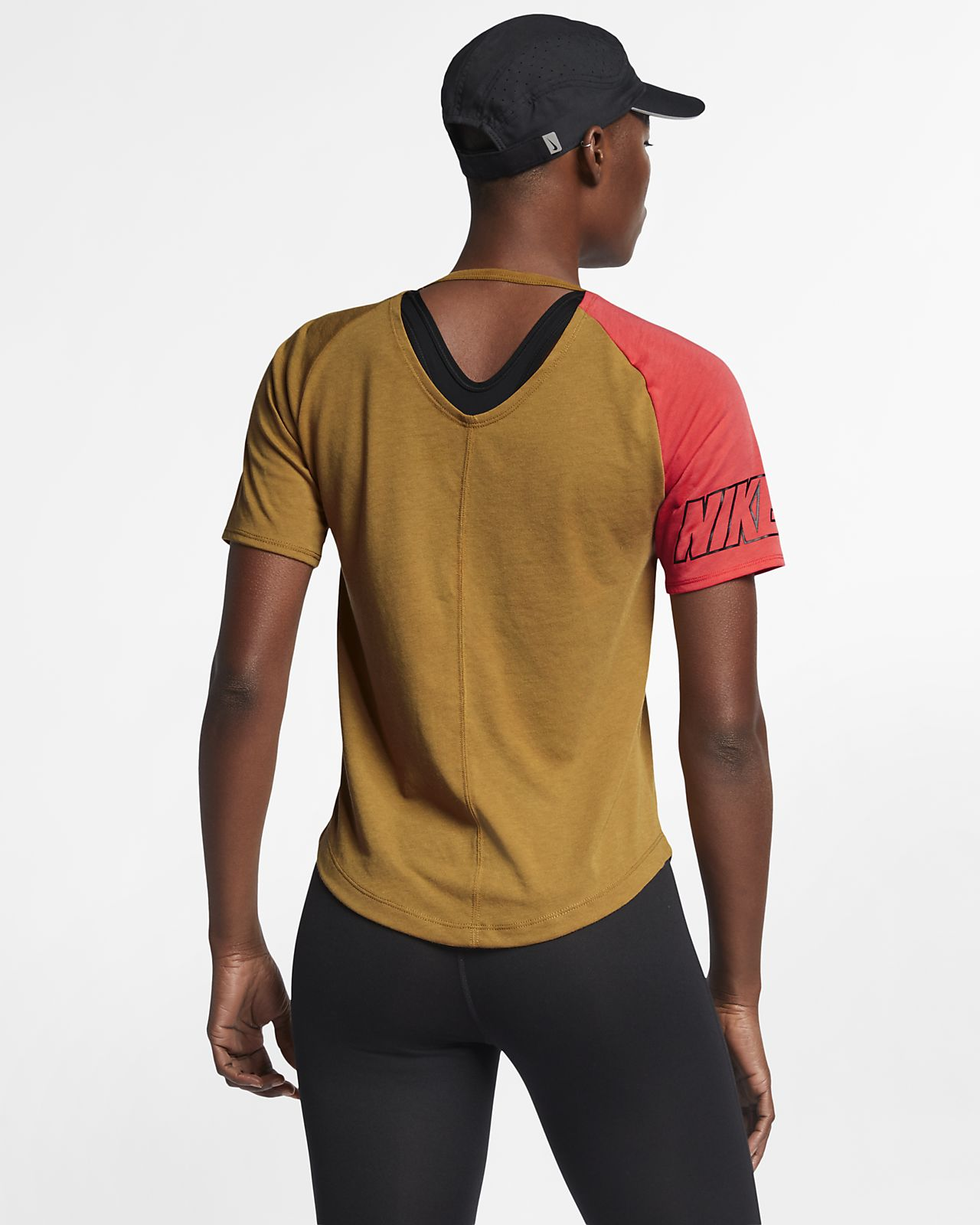 66691ccf6fc9 Dámské běžecké tričko Nike Miler. Nike.com CZ